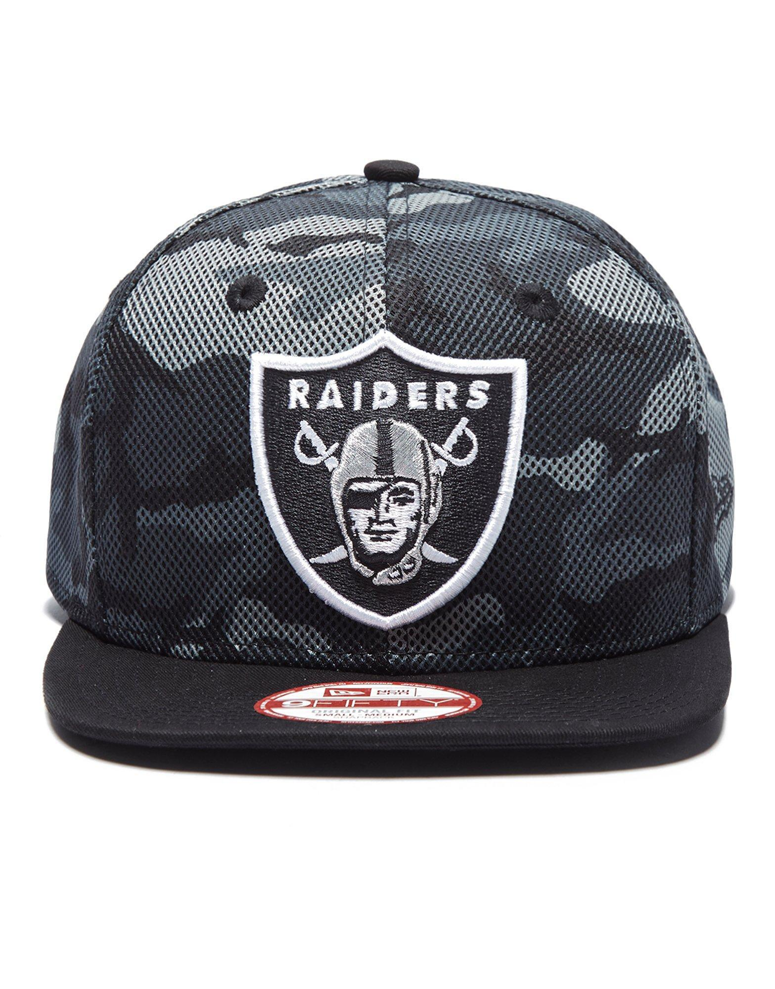 Lyst - KTZ Nfl Oakland Raiders 9fifty Mesh Camo Cap for Men 7e4eb29c31e