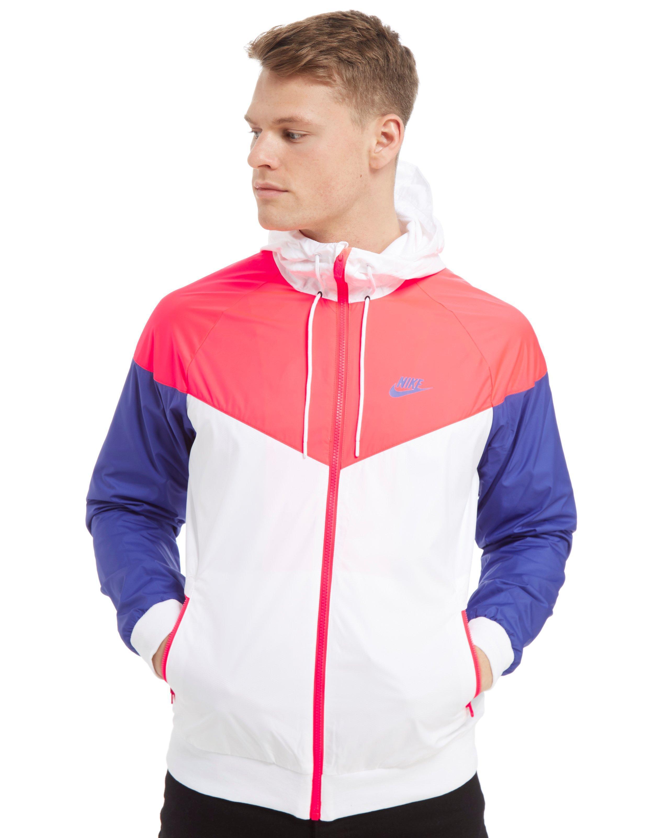 1ab87feea4 Lyst - Nike Windrunner Lightweight Jacket in Pink for Men