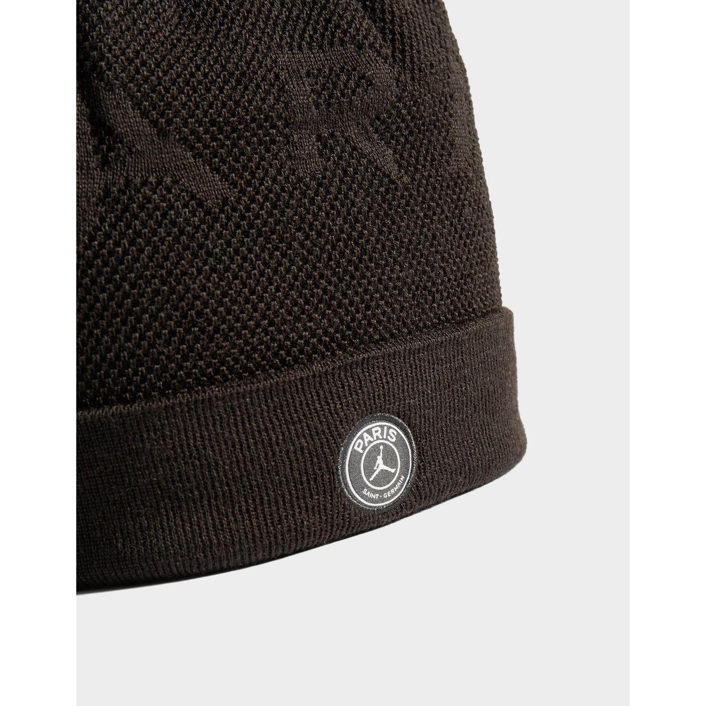 5bbb7fbdad5b51 Nike - Black X Paris Saint Germain Beanie Hat for Men - Lyst. View  fullscreen