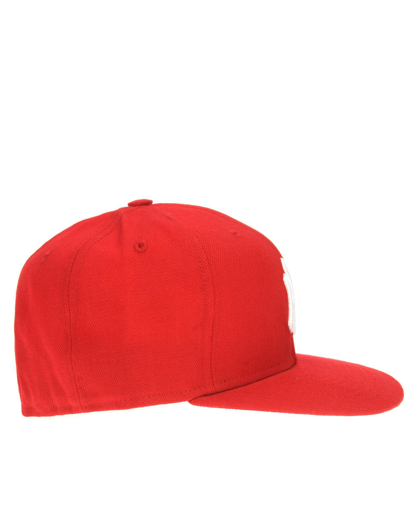 bcefae6b KTZ Mlb New York Yankees 59fifty Fitted Cap in Red for Men - Lyst