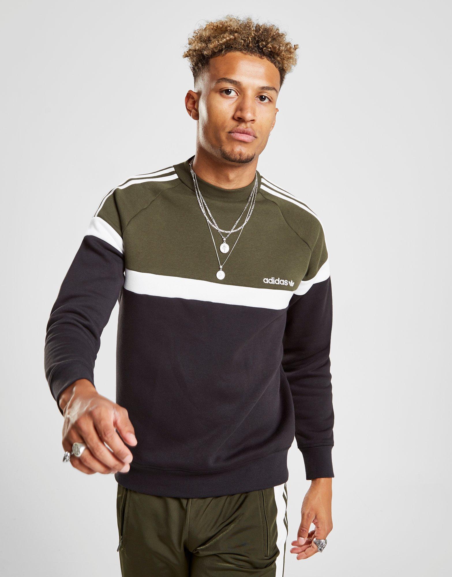 1ab34217abc6 Lyst - Adidas Originals Itasca Crew Sweatshirt for Men