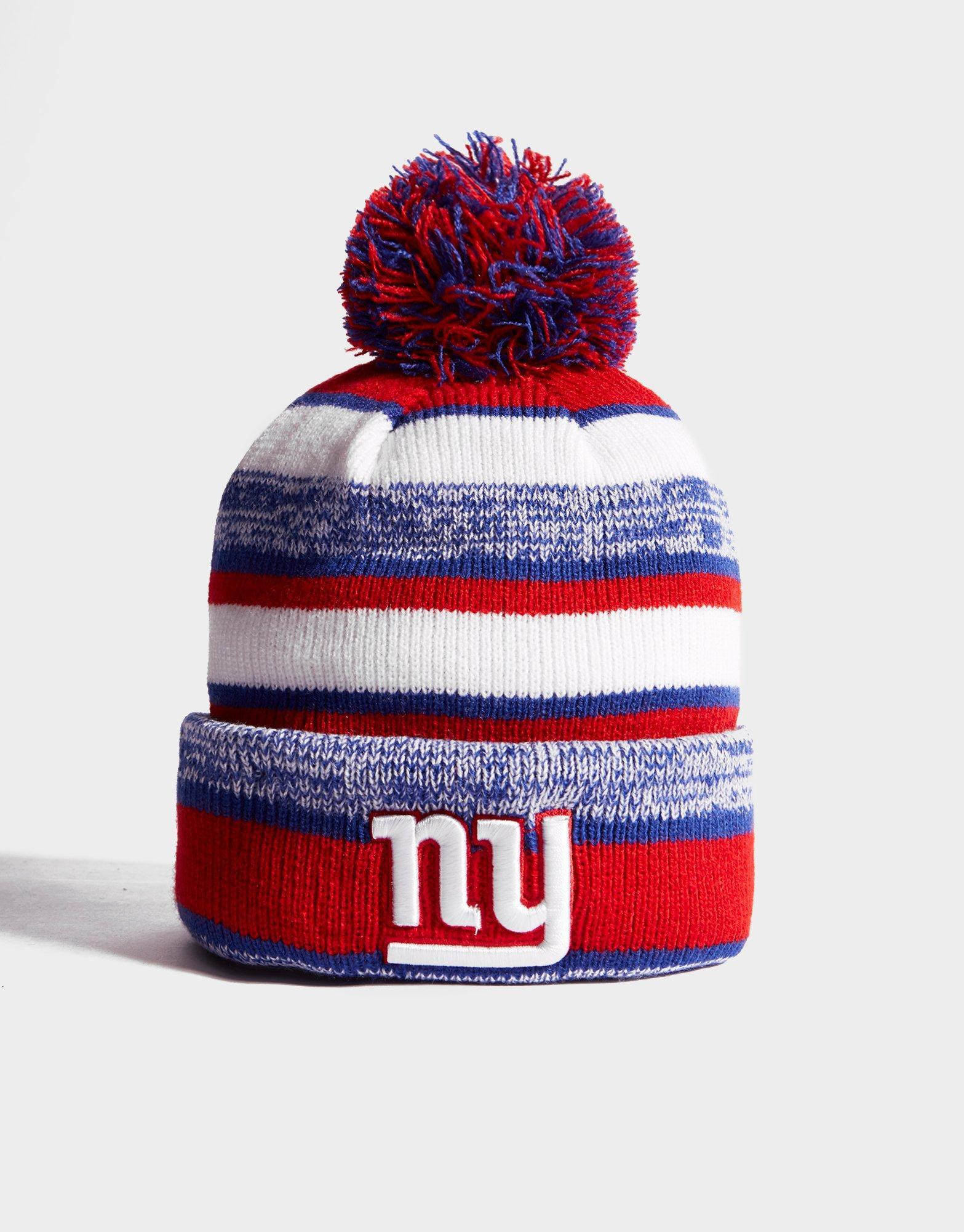 Lyst - Ktz Nfl New York Giants Pom Beanie in Red for Men 9ab84d84c