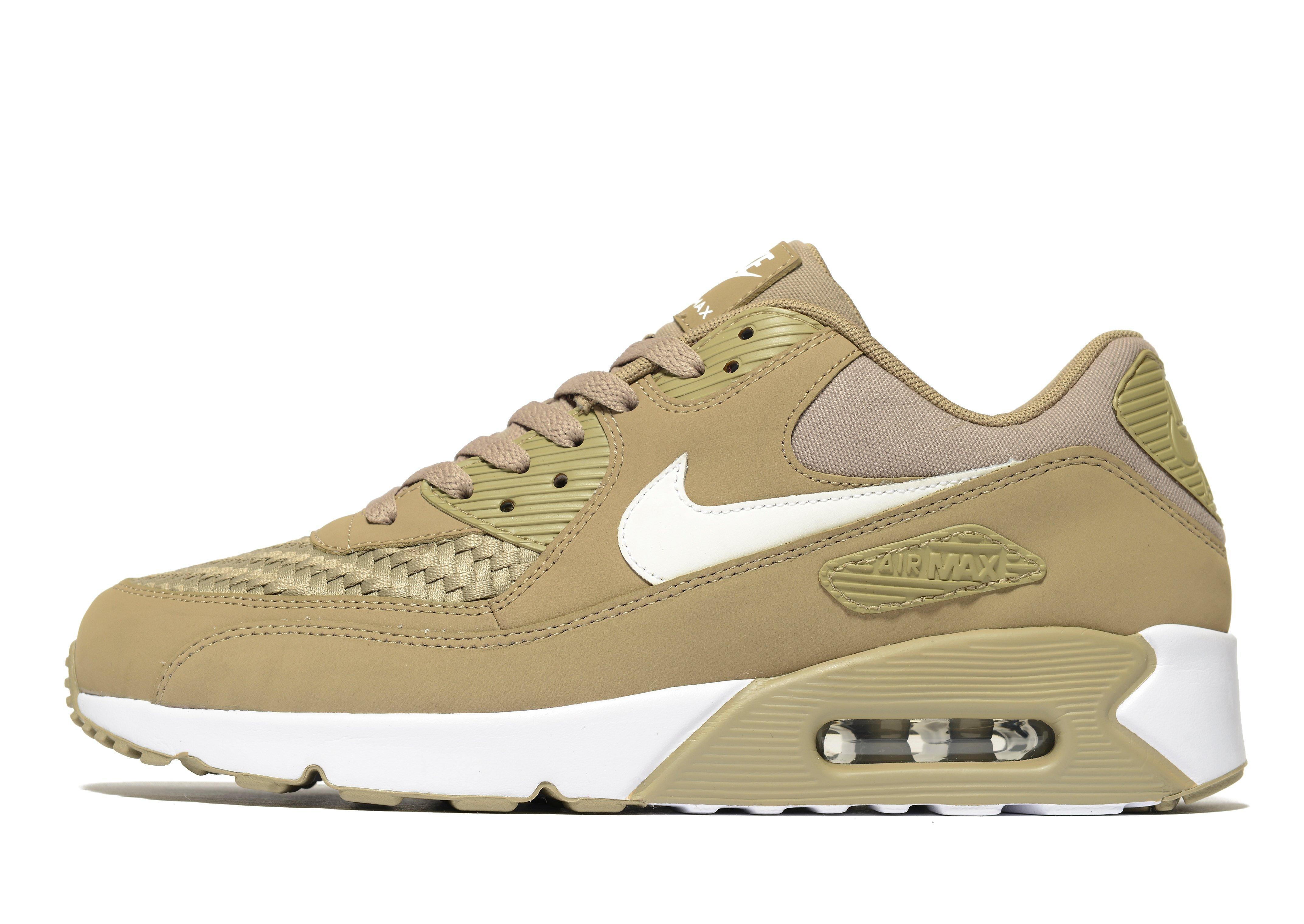 9208963a4a ... coupon code for nike air max 90 ultra essentials woven in green for men  lyst 11a13