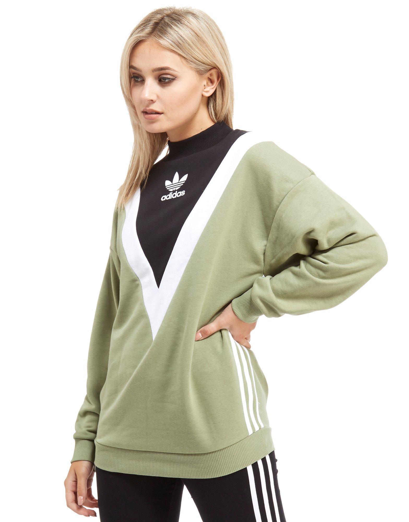 Lyst Adidas Originals Chevron Sweatshirt