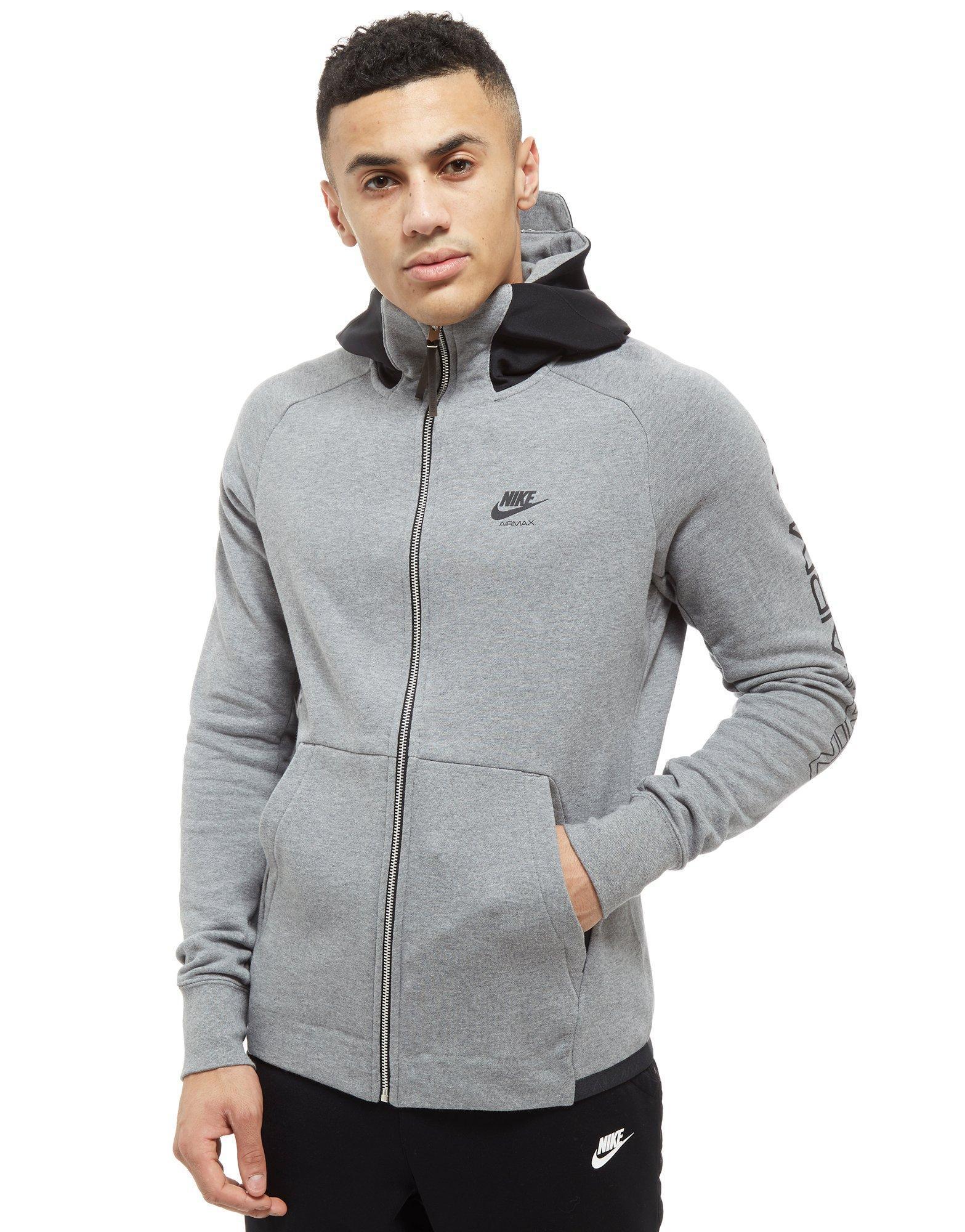 c915e4266515 Lyst - Nike Air Max Full Zip Hoodie in Gray for Men