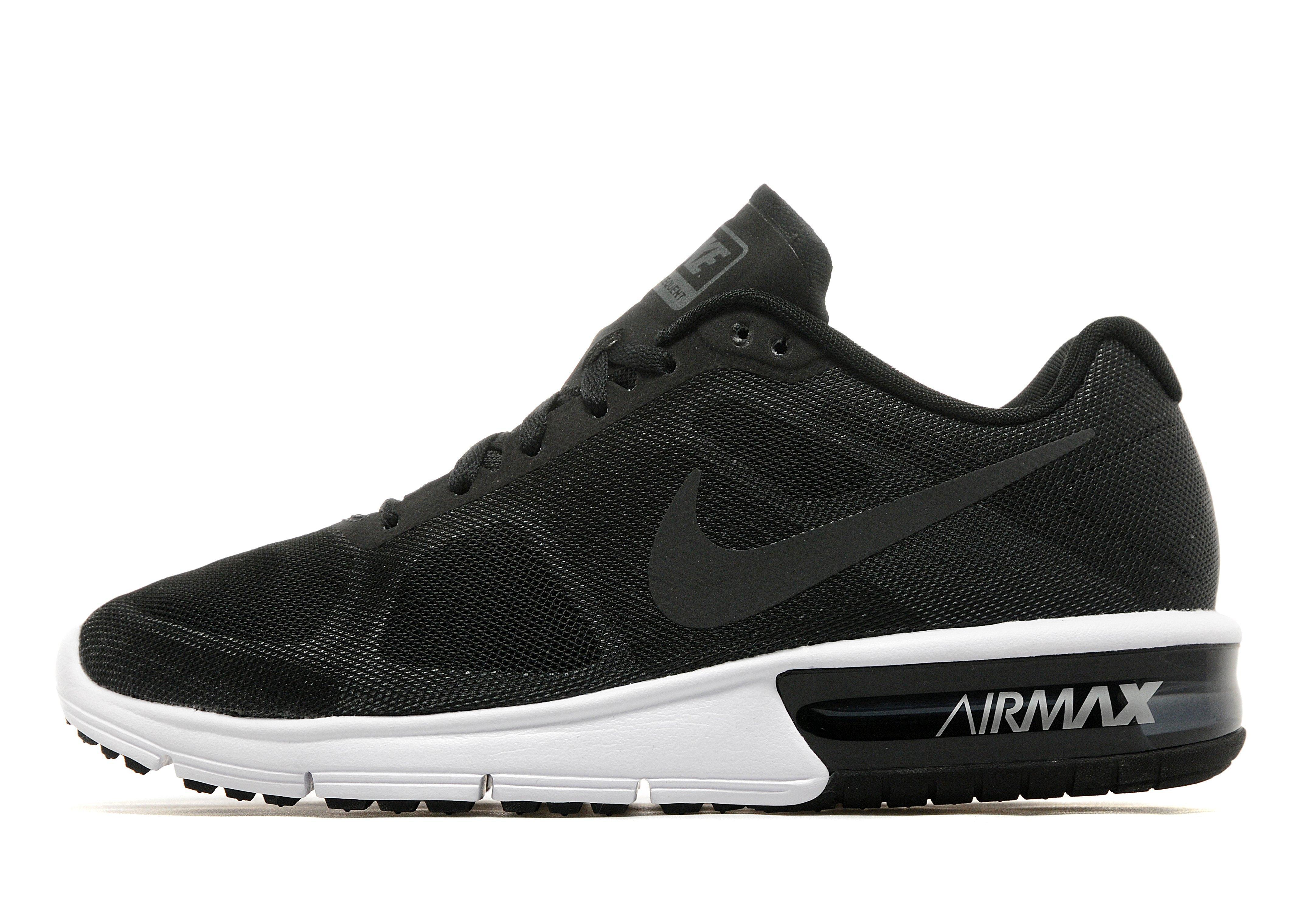 Lyst - Nike Air Max Sequent in Black 18eafa817