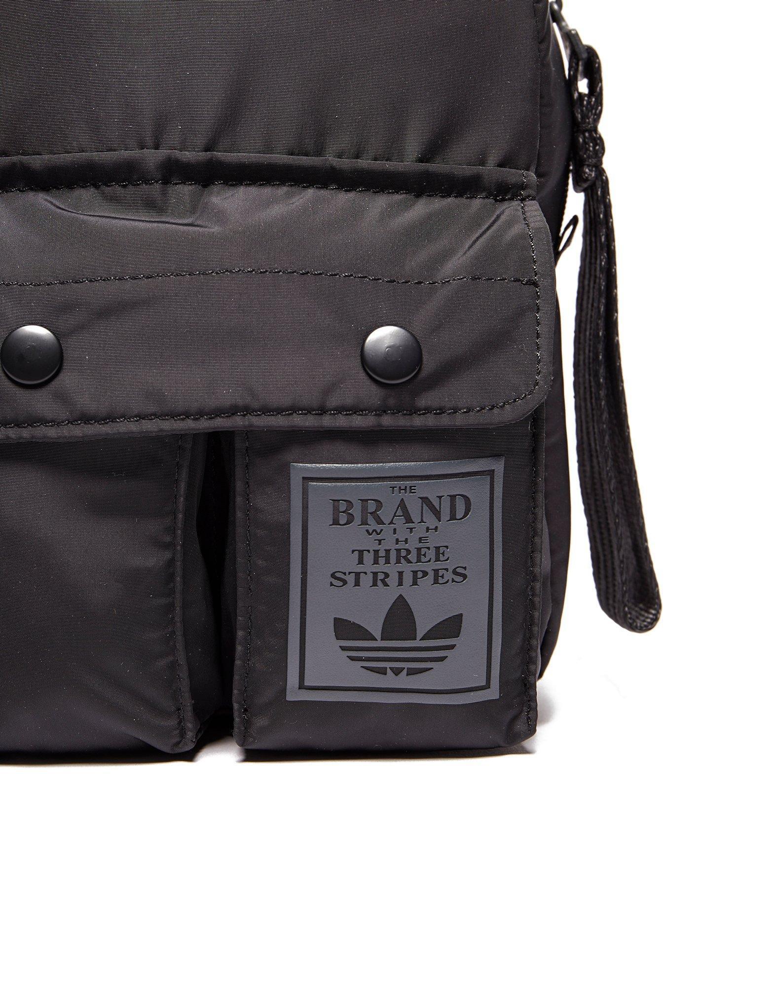Lyst - adidas Originals Mini Classic Backpack in Black eea9c8c138a2e