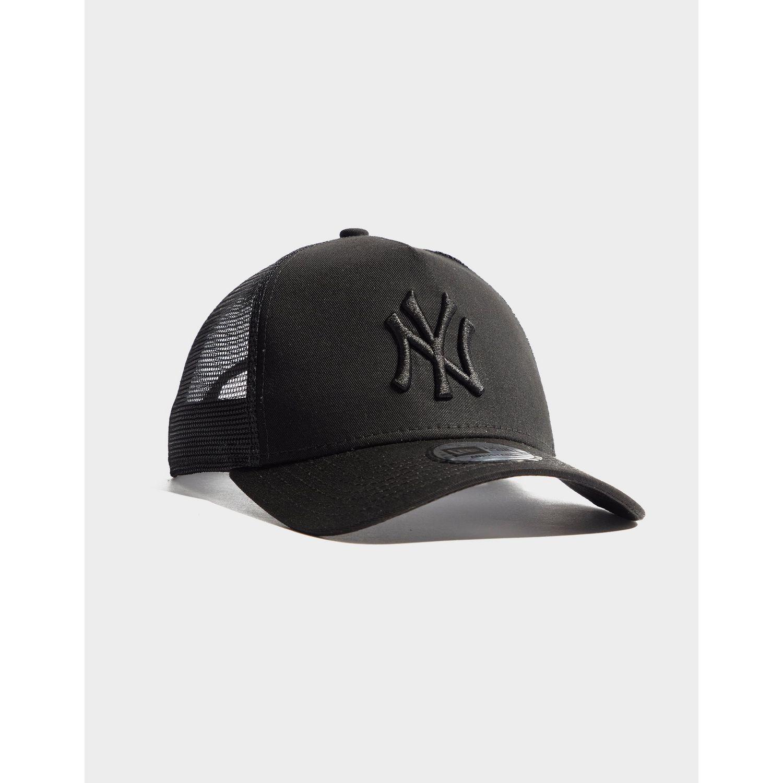 4057cc2737b KTZ Mlb New York Yankees Snapback Trucker Cap in Black - Lyst