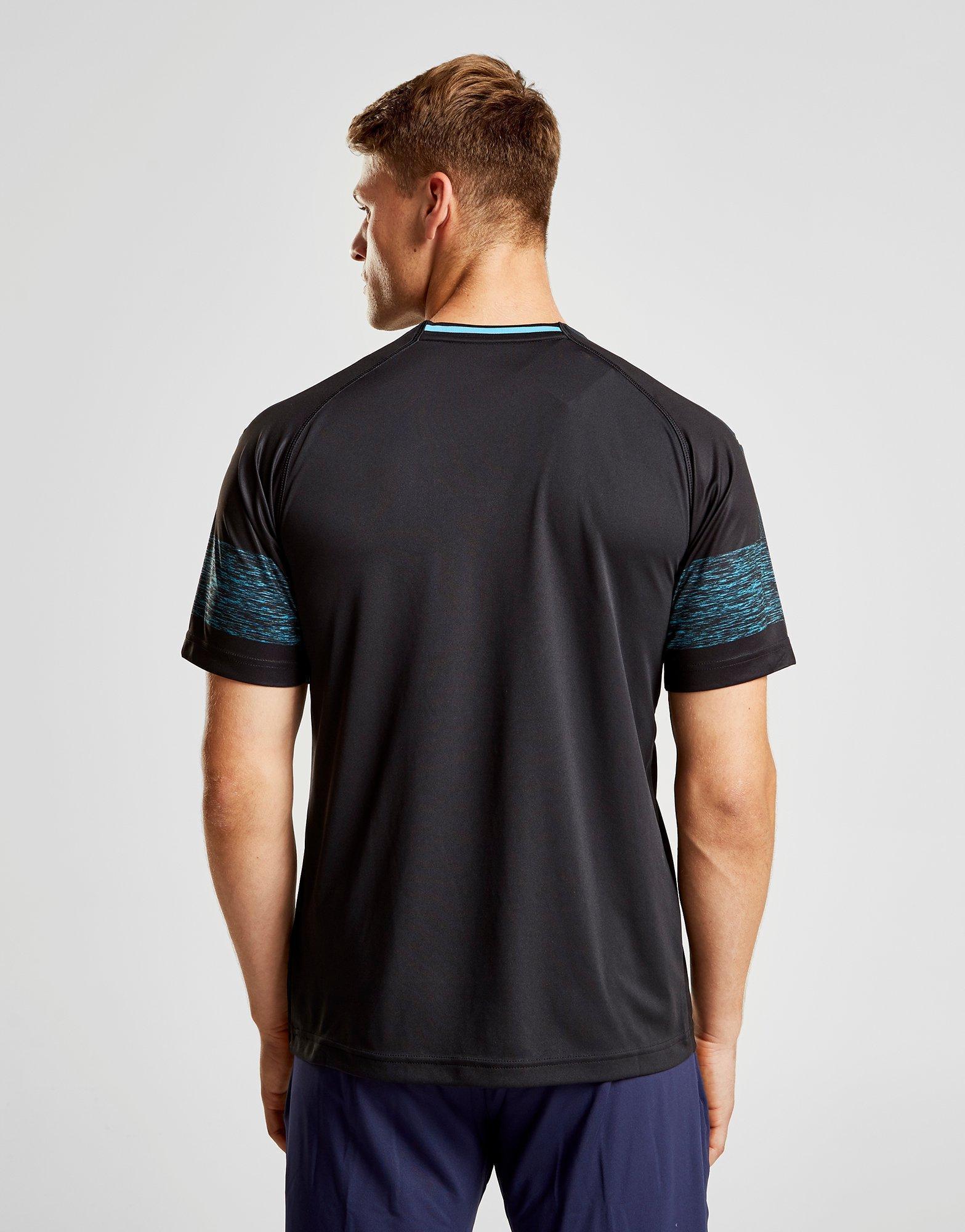 ... usa cheap sale 30ca6 fa797 Puma Olympique Marseille 201819 Away Shirt in  Black for Men ... 46a21c766