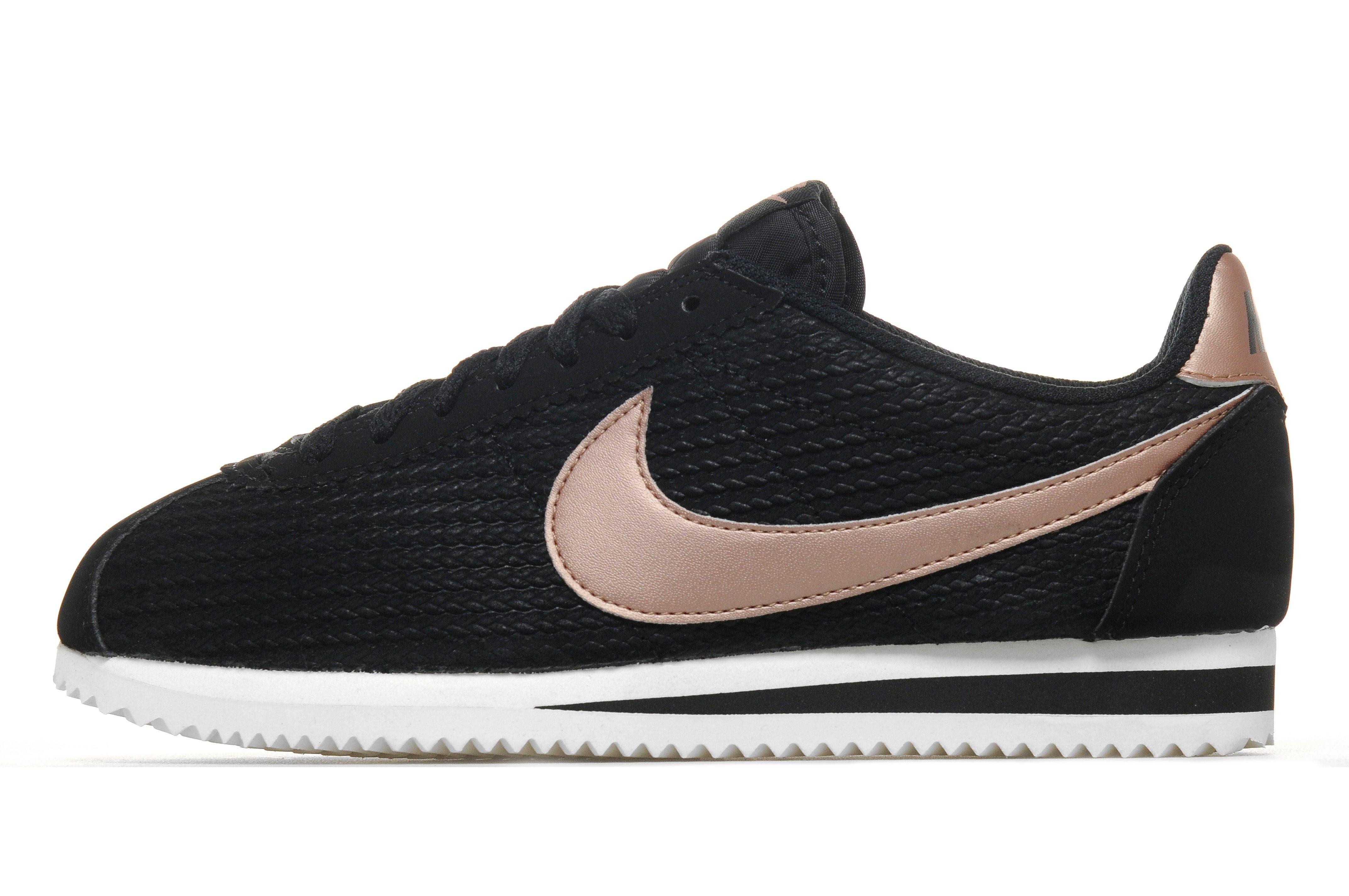 Nike Cortez In Black For Men Lyst