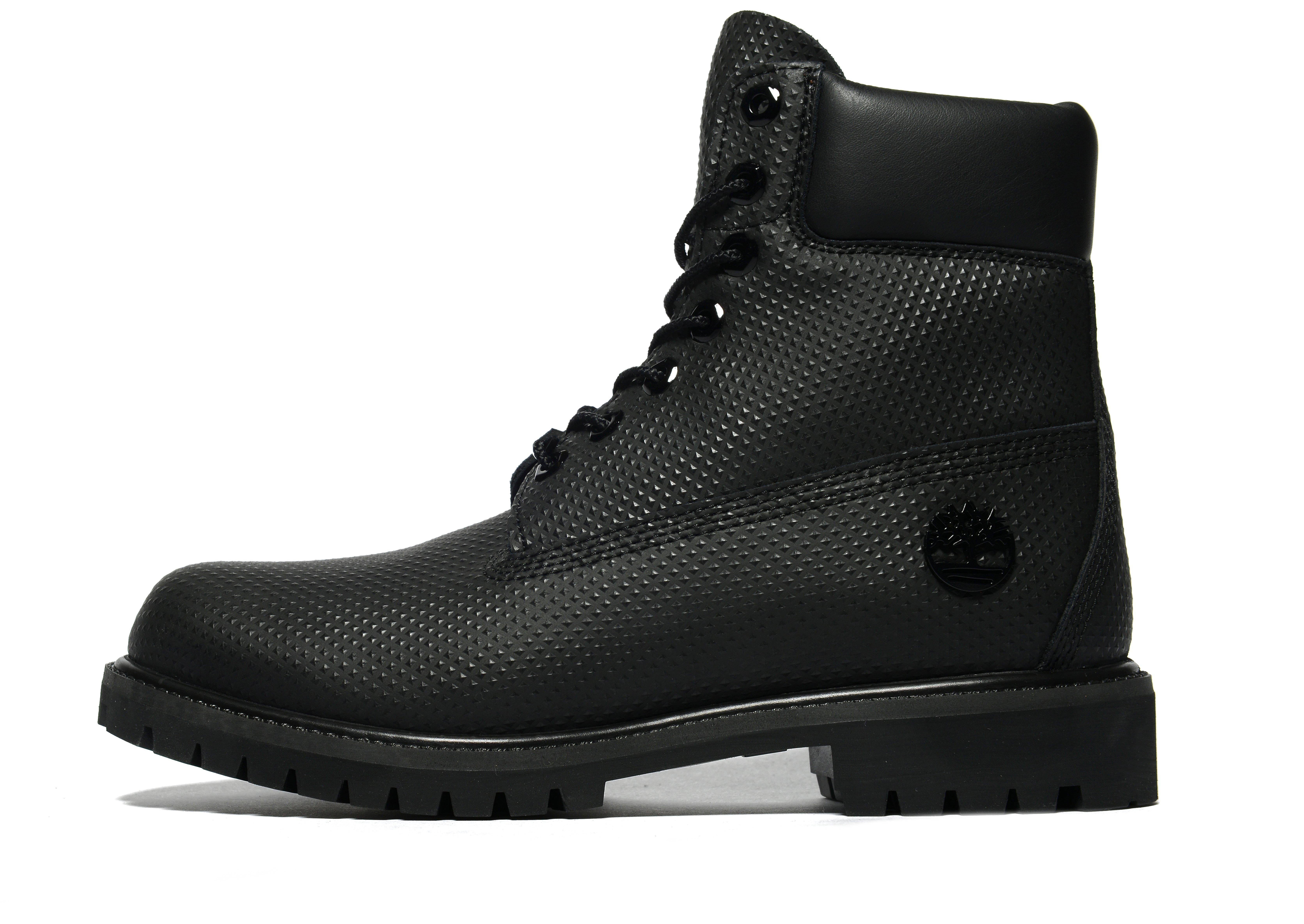 lyst timberland 6 inch premium helcor boot in black for men. Black Bedroom Furniture Sets. Home Design Ideas