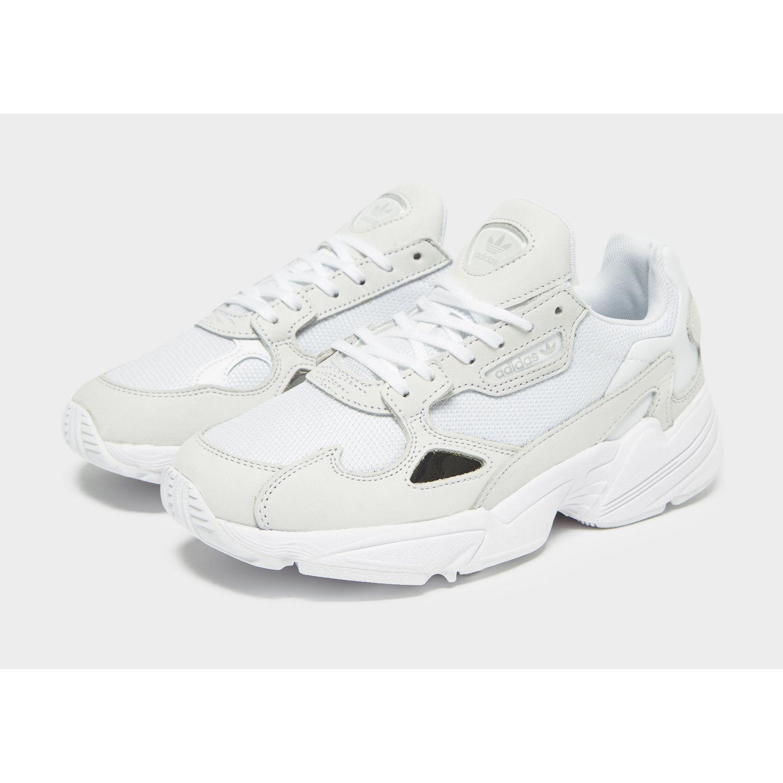 purchase cheap e556f 31637 Lyst - adidas Originals Falcon in White