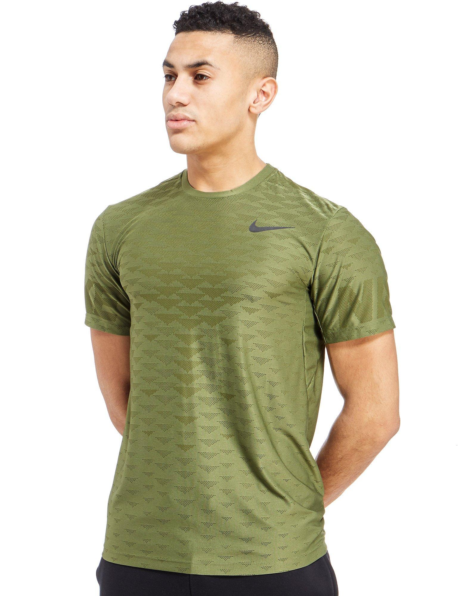 Lyst Nike Zonal Cooling T Shirt In Green For Men