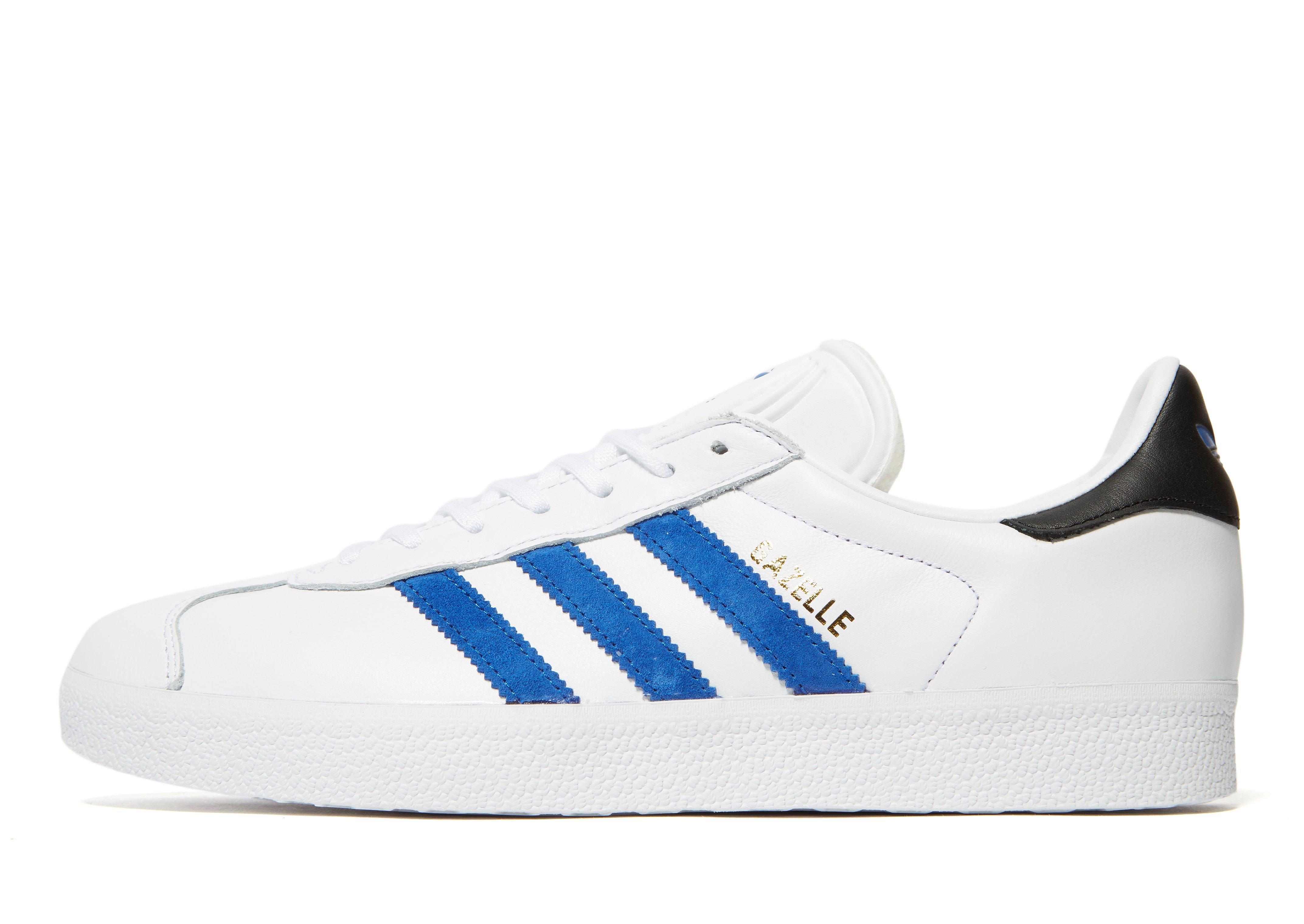 Adidas Originals Gazelle in Blue for Men - Lyst 54e60dc84985