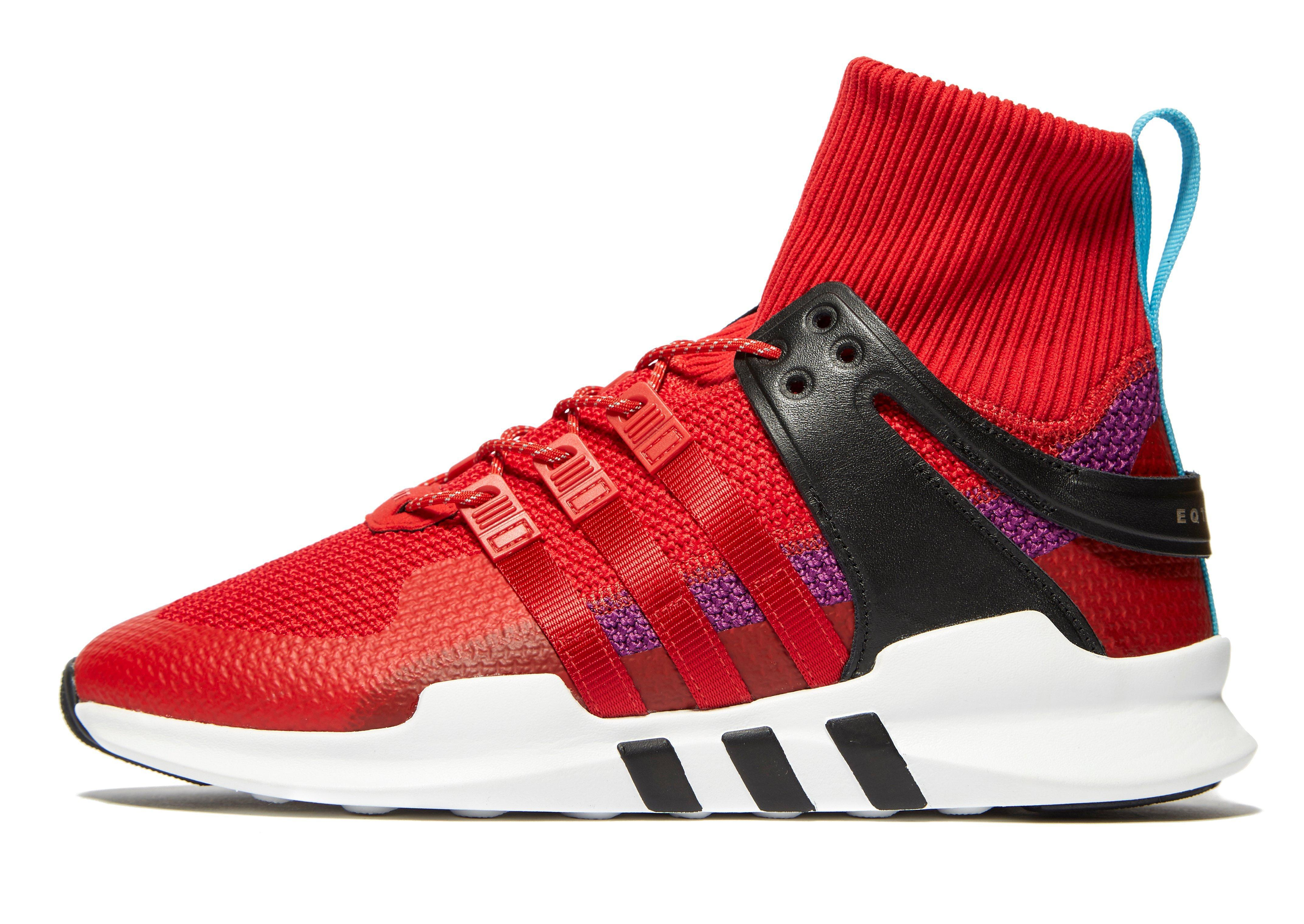 size 40 d8441 6f116 Adidas Originals Eqt Support Adv Winter in Red for Men - Lys