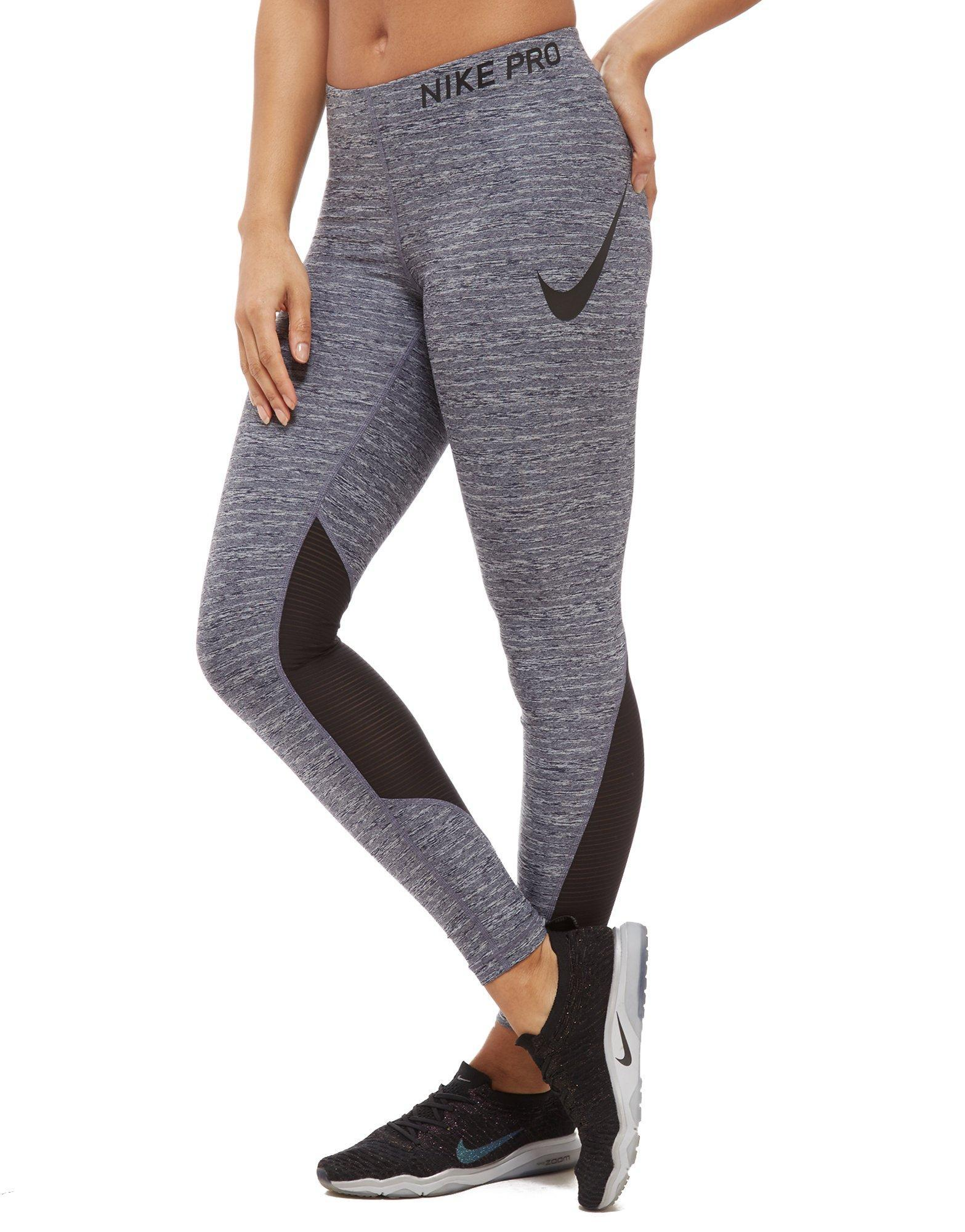 d3fa258913375 Lyst - Nike Pro Training Tights in Gray