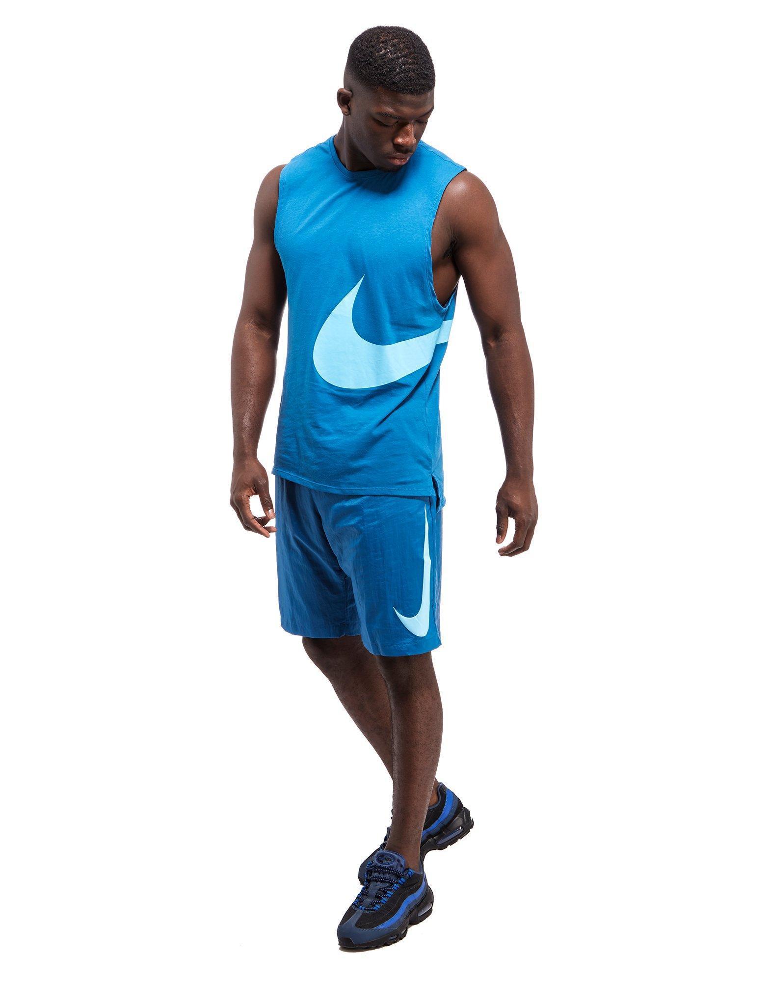 ca3f2f02e932 Lyst - Nike Hybrid Swoosh Vest in Blue for Men