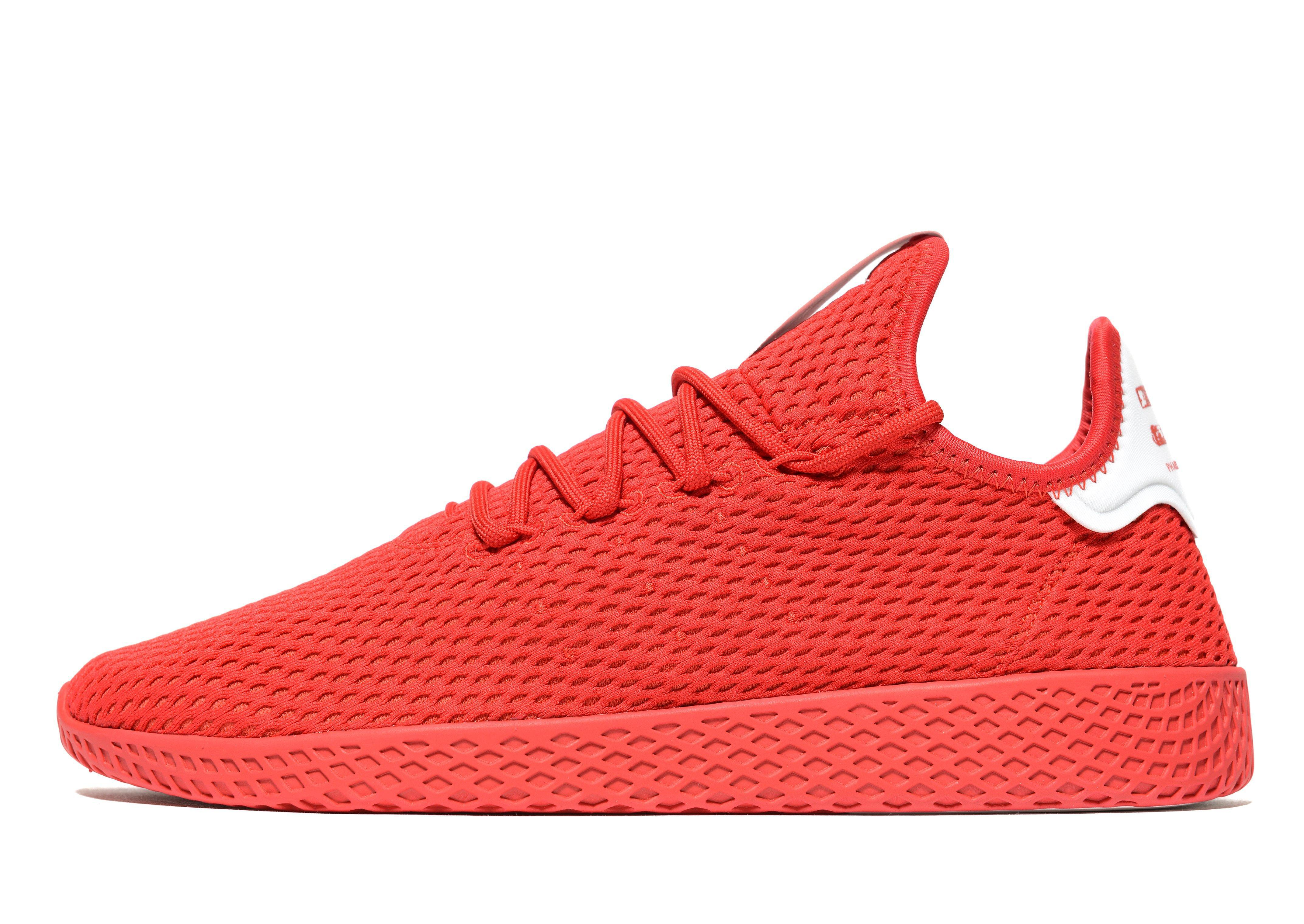 fcbadc56ee370 Lyst - Adidas Originals Pharrell Williams Tennis Hu in Red for Men