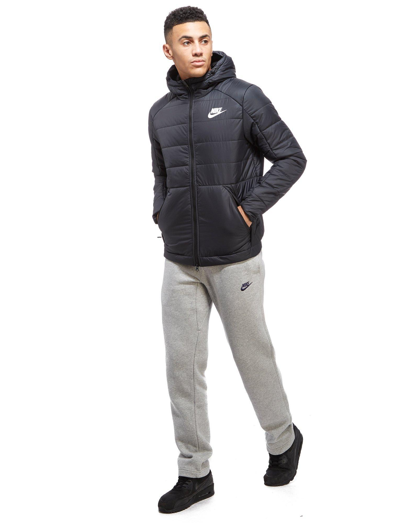 8008a0d6d883 Black In Lyst Jacket Bubble For Men Nike tWqfI