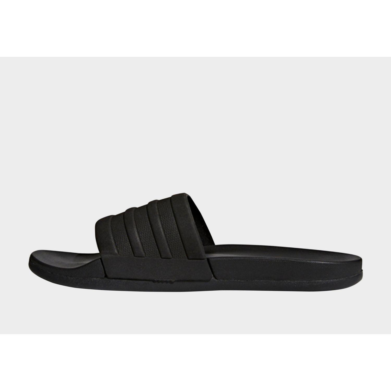 785011bfa1ed Lyst - adidas Adilette Cloudfoam Plus Mono Slides in Black for Men