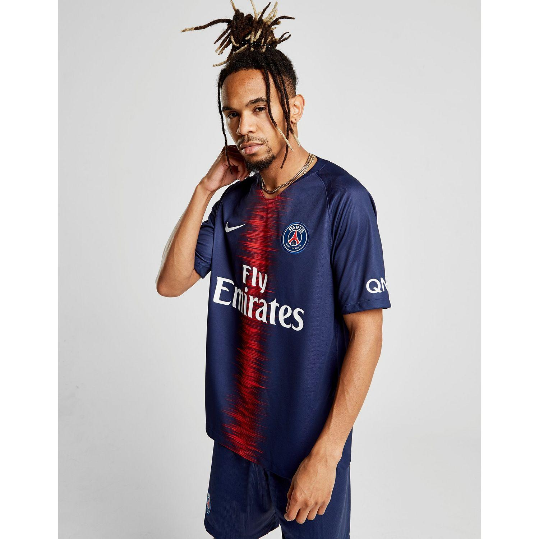 126498e21 Nike 2018/19 Paris Saint-germain Stadium Home Men's Football Shirt ...