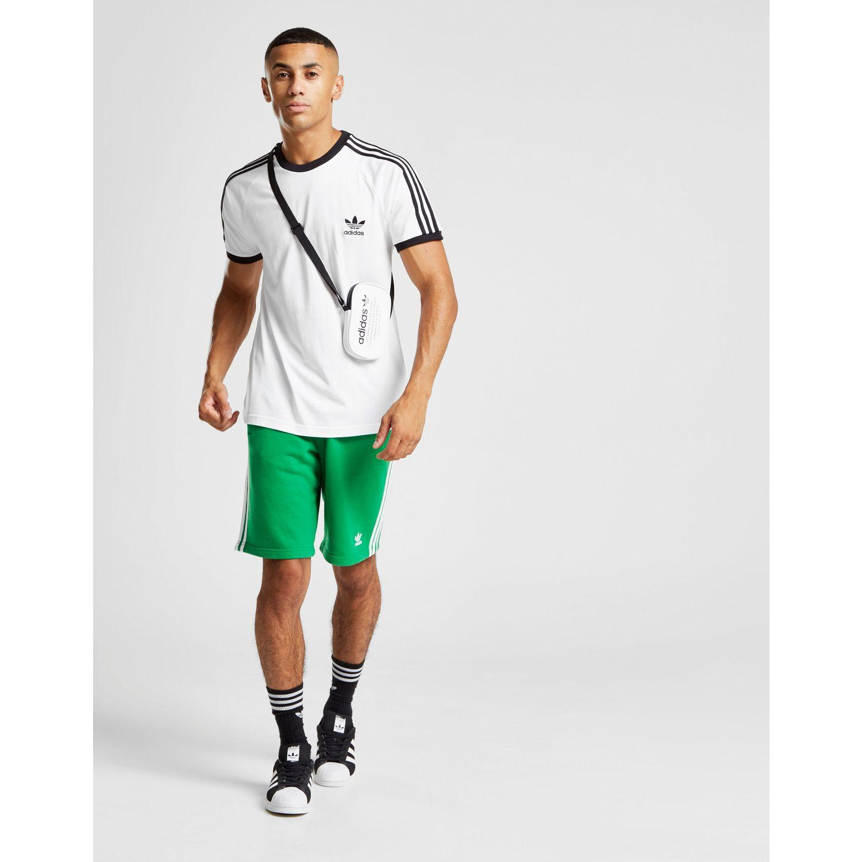 6e833d33c55 Lyst - adidas Originals 3-stripes California Short Sleeve T-shirt in ...