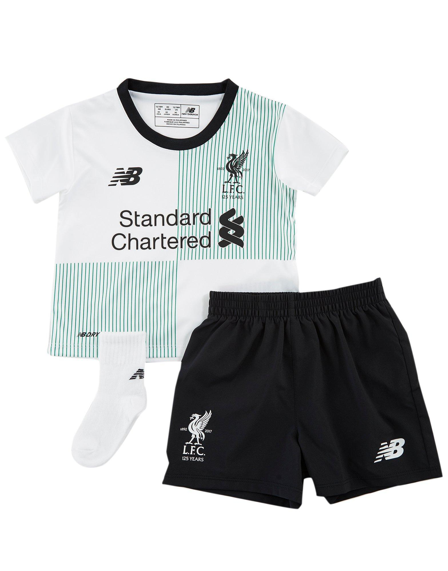 7343cfa4a New Balance Liverpool Fc 2017 18 Away Kit Infant in White for Men - Lyst