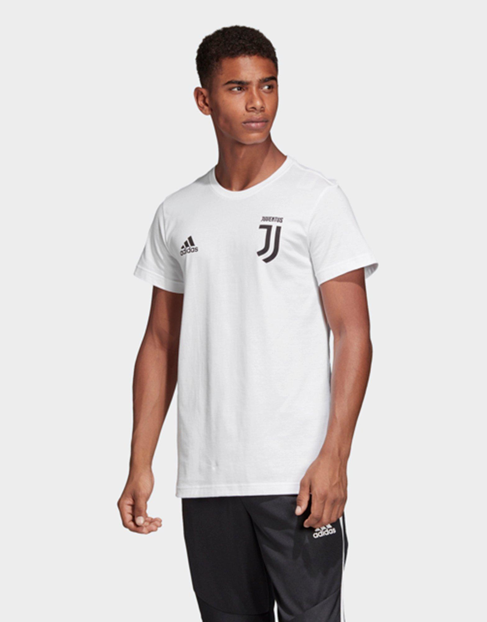 4609213b9 Adidas - White Juventus Turin Graphic T-shirt for Men - Lyst. View  fullscreen