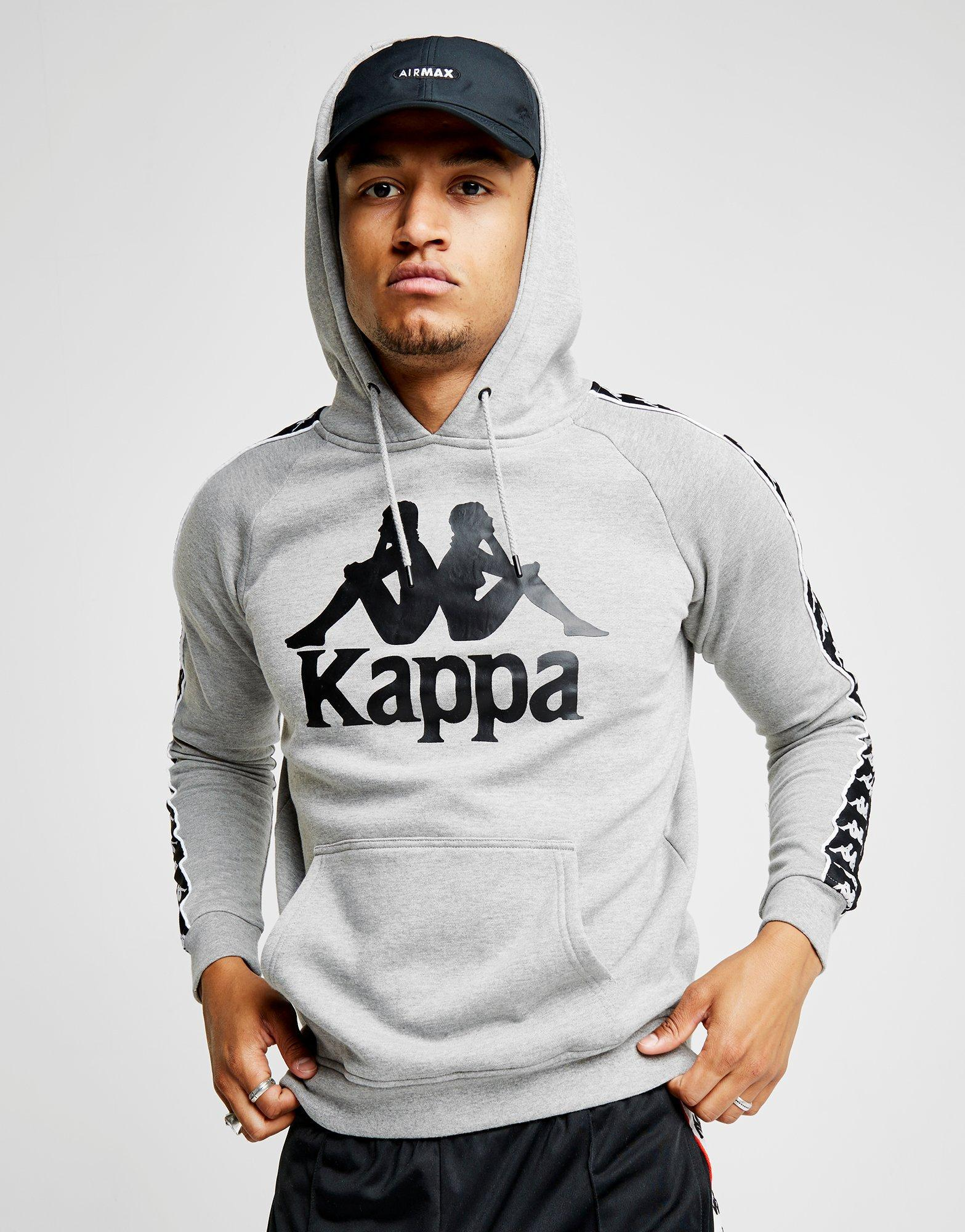 7944609dafa5 Lyst - Kappa Authentic Hurtado Tape Hoodie in Gray for Men