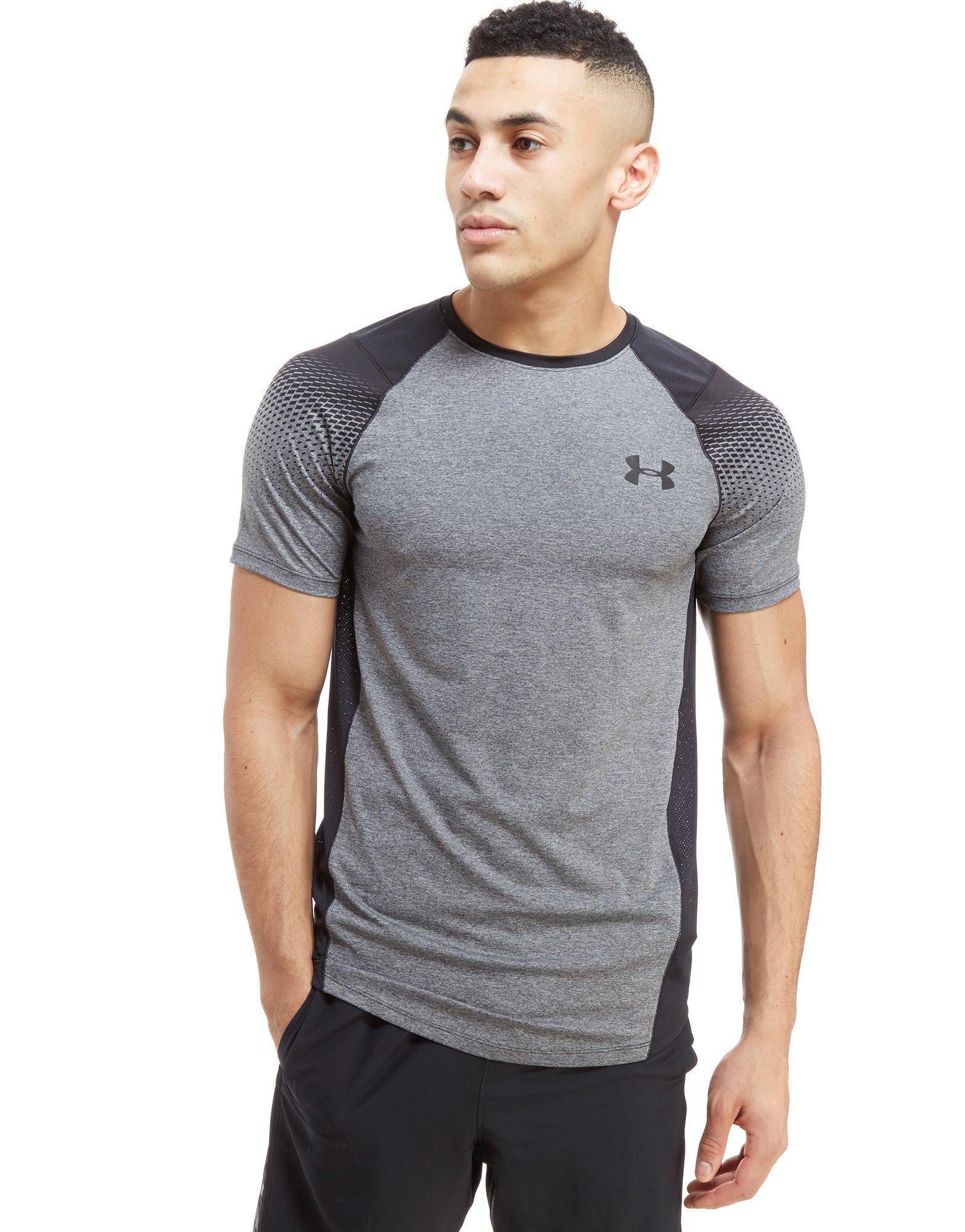a7c7457d Under Armour Raid Dash T-shirt in Gray for Men - Lyst