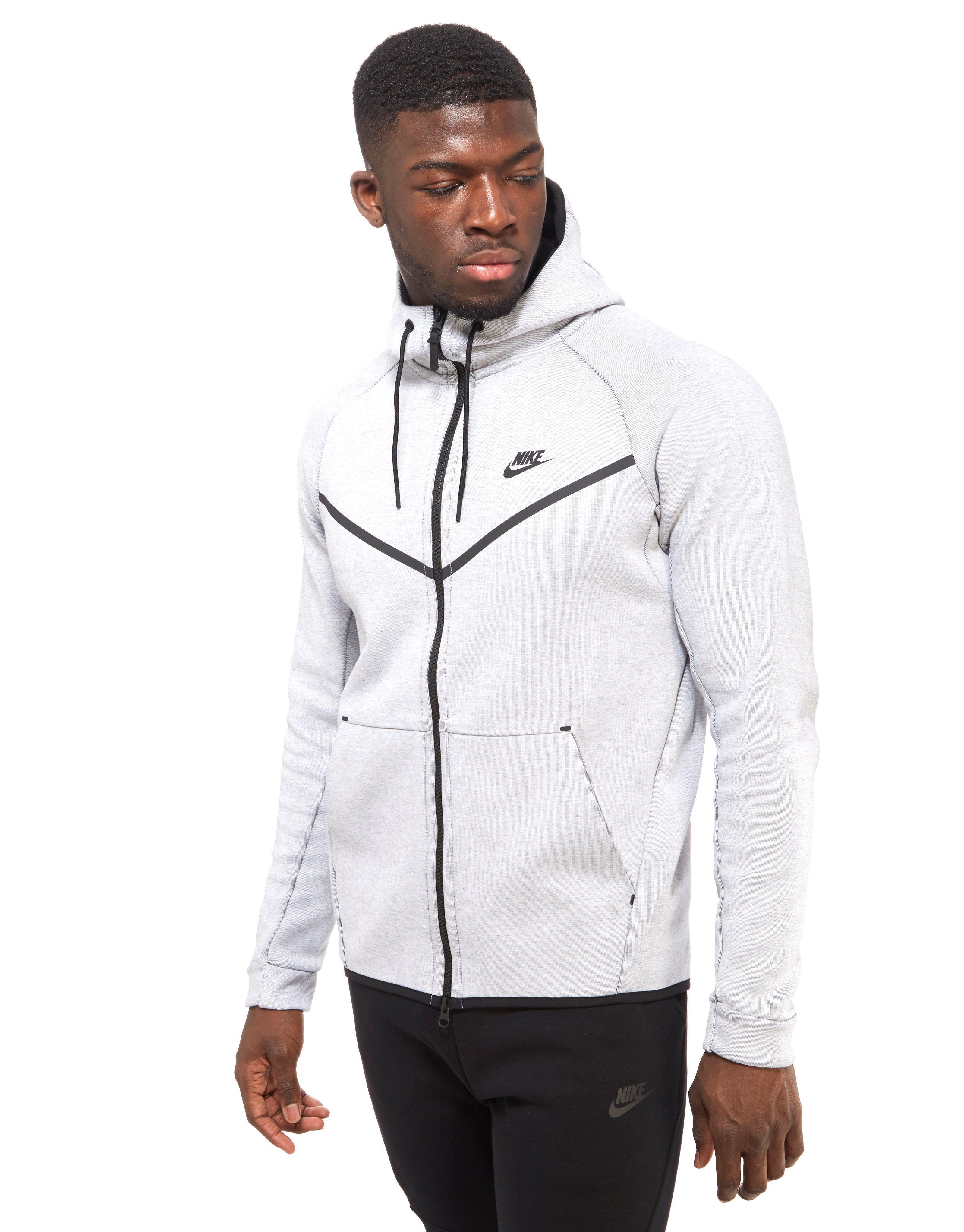 3239411839d4 Lyst - Nike Tech Fleece Windrunner Hoody in White for Men