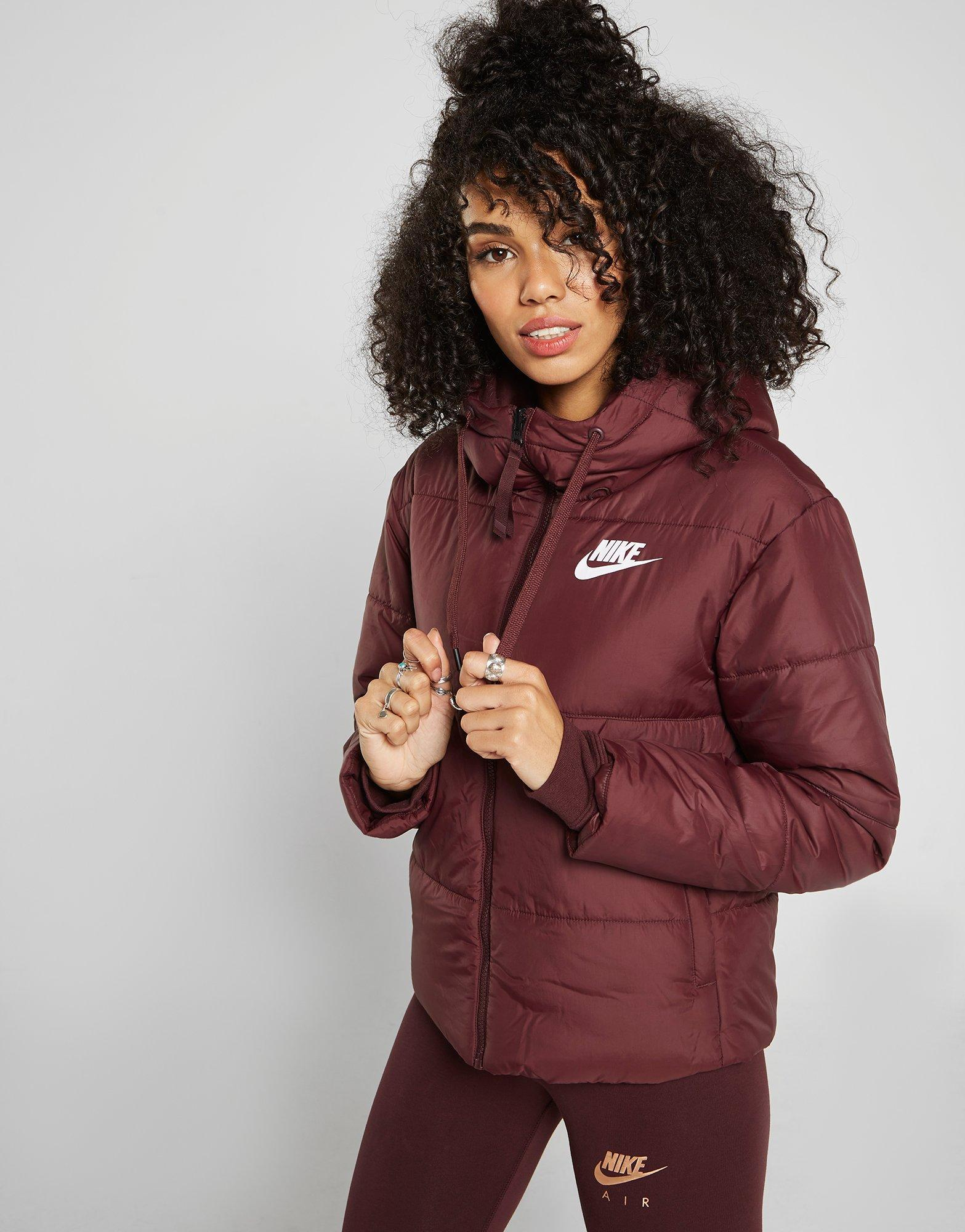 db8c3bc34bc2 Lyst - Nike Reversible Padded Jacket in Red