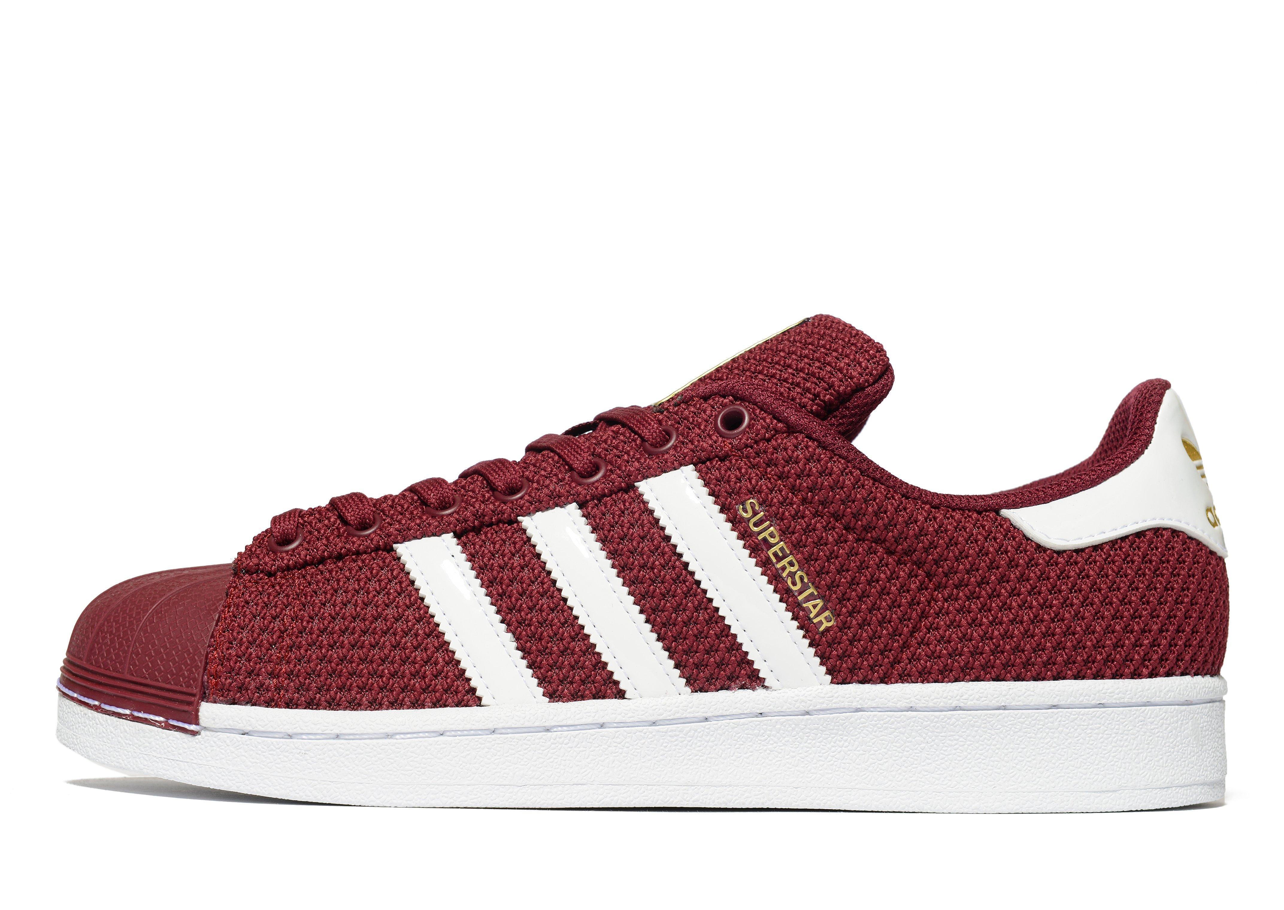 Adidas Originali In Rosso Per Di Gli Uomini Lyst Superstar Di Per Maglia 6b845e