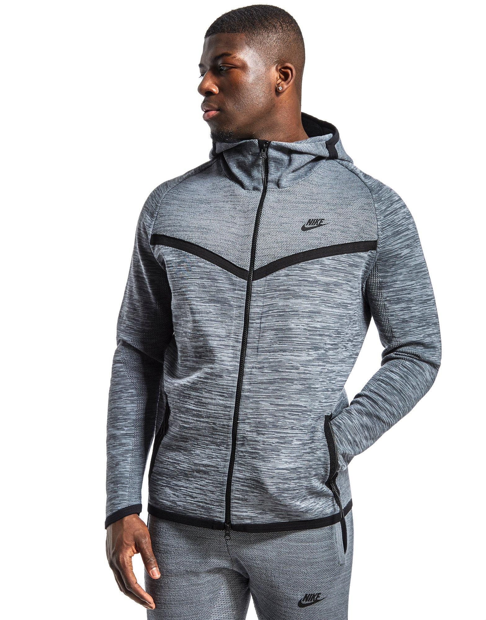 Nike Tech Knit Windrunner in Gray for Men - Lyst 1ebd3d87f