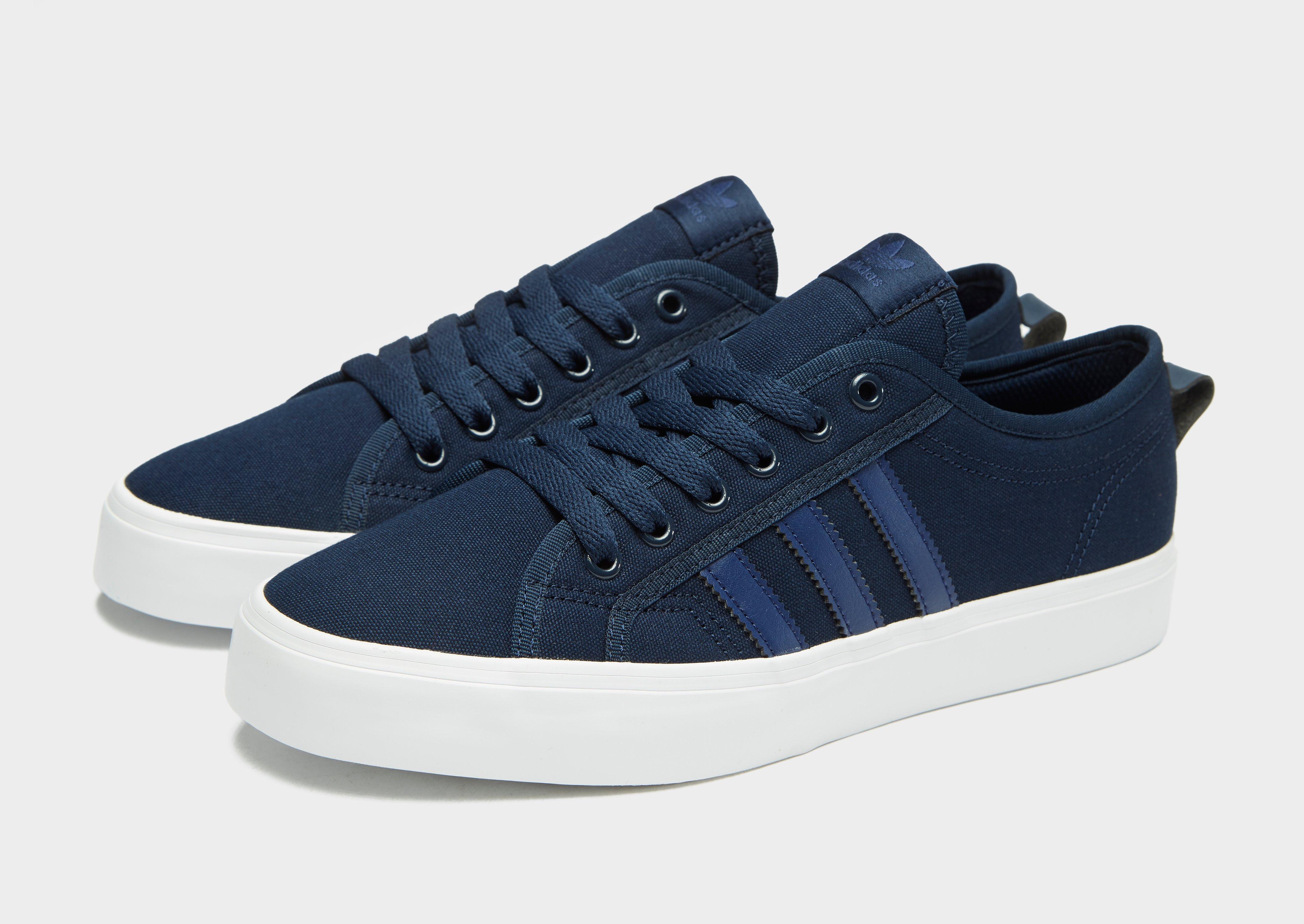 the best attitude 070ea 6a0da adidas Originals Nizza Lo in Blue for Men - Lyst