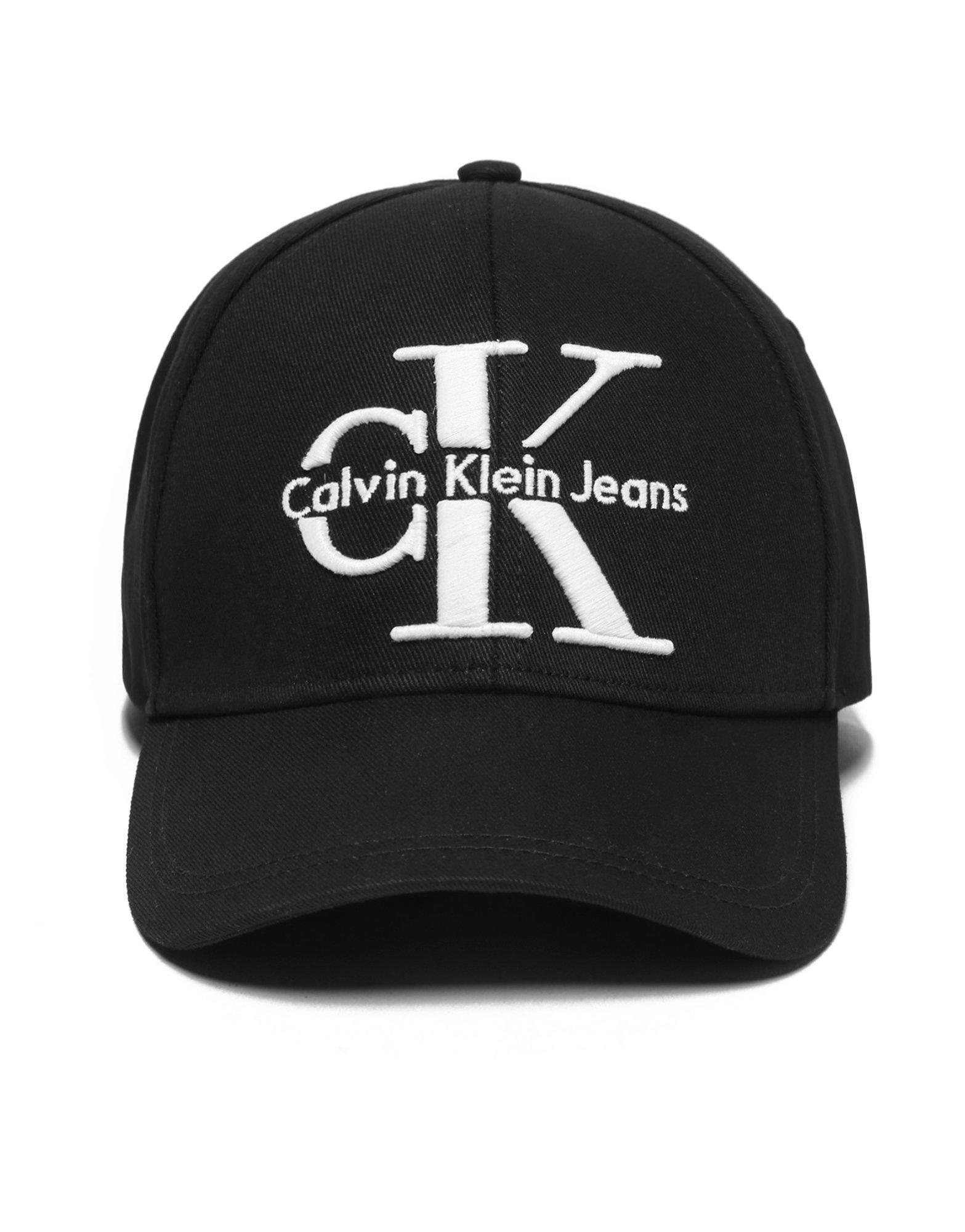 b9f4525d CALVIN KLEIN 205W39NYC Jeans Reissue Cap in Black for Men - Lyst