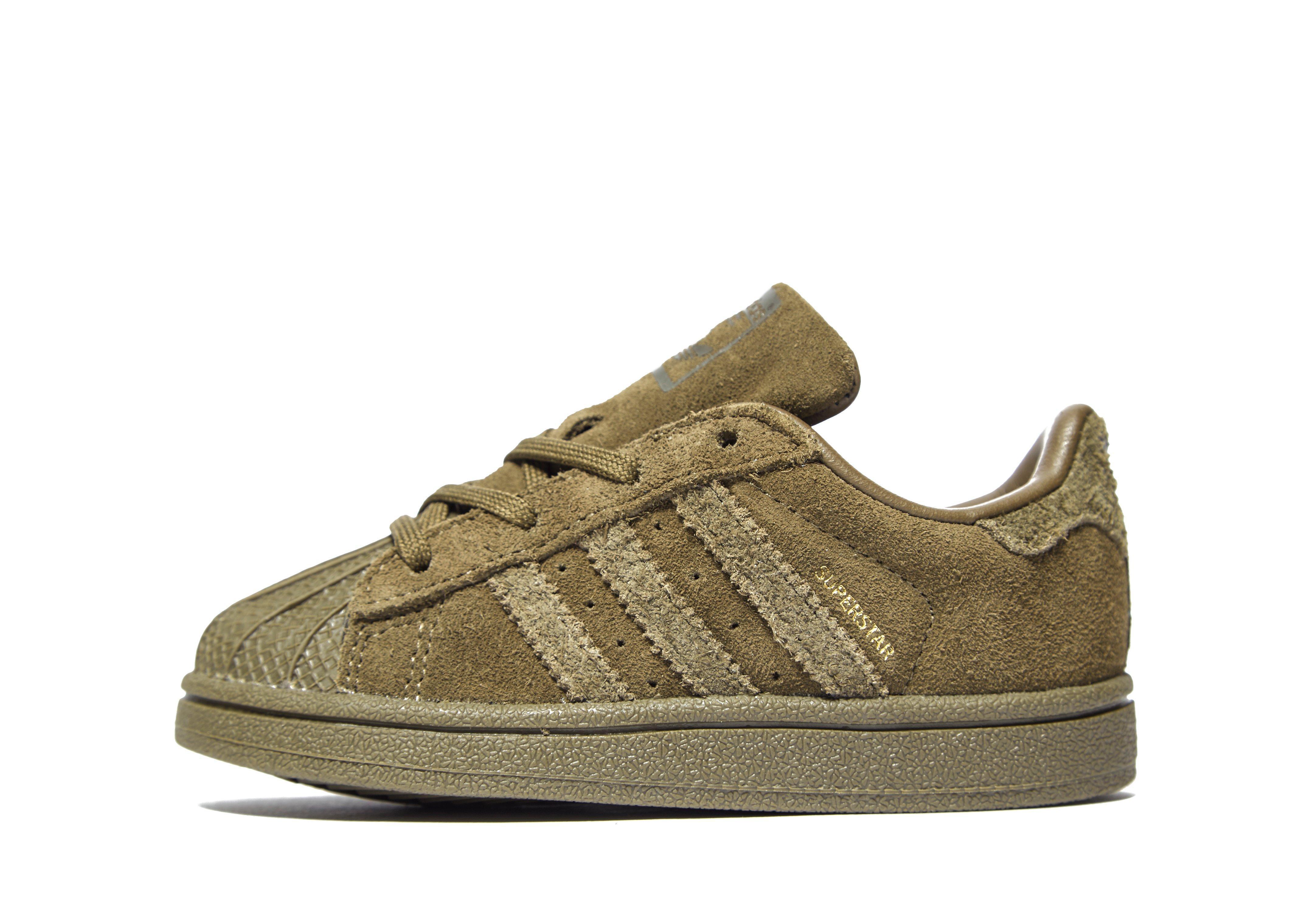 wholesale dealer 6bf05 01496 Lyst - adidas Originals Superstar Infant in Green for Men