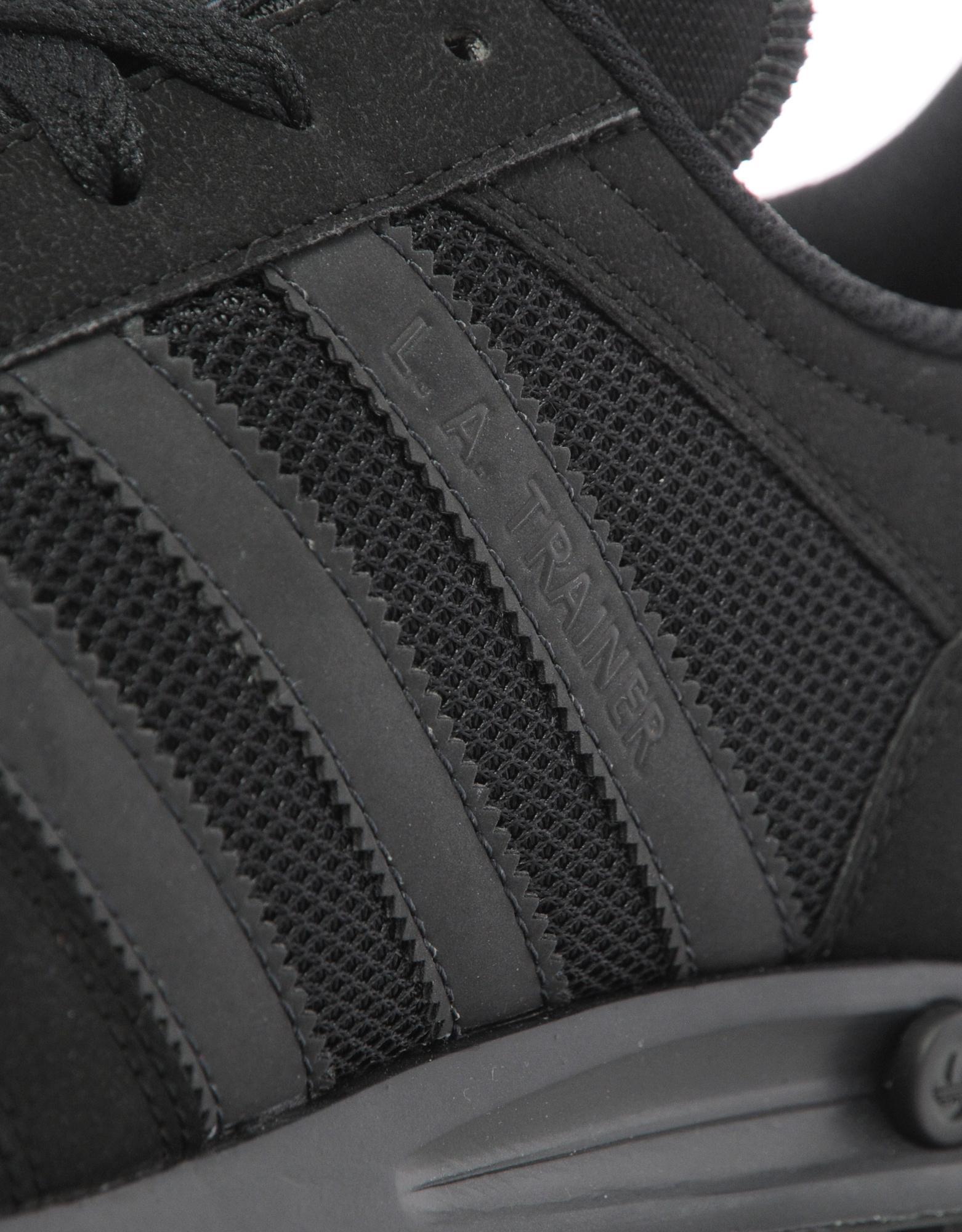 Adidas Originals Black La Trainer for Men Lyst