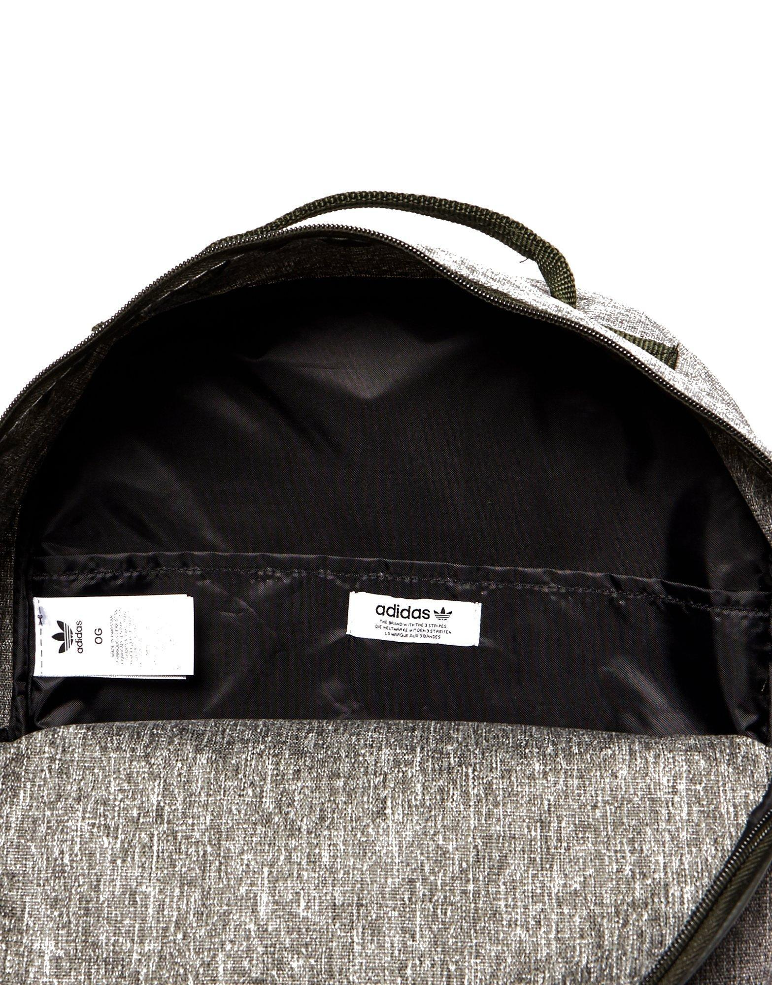 c960a6178606 Lyst - adidas Originals Classic Trefoil Backpack in Gray for Men