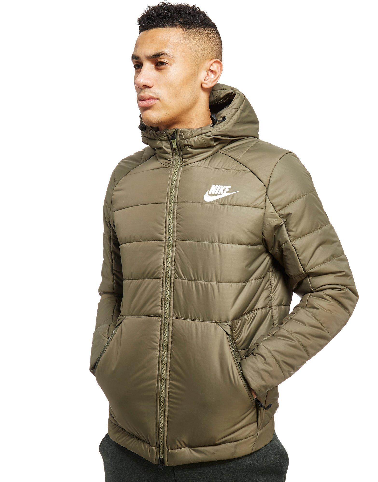 e1cdc9945c5f Lyst - Nike Bubble Padded Jacket in Green for Men