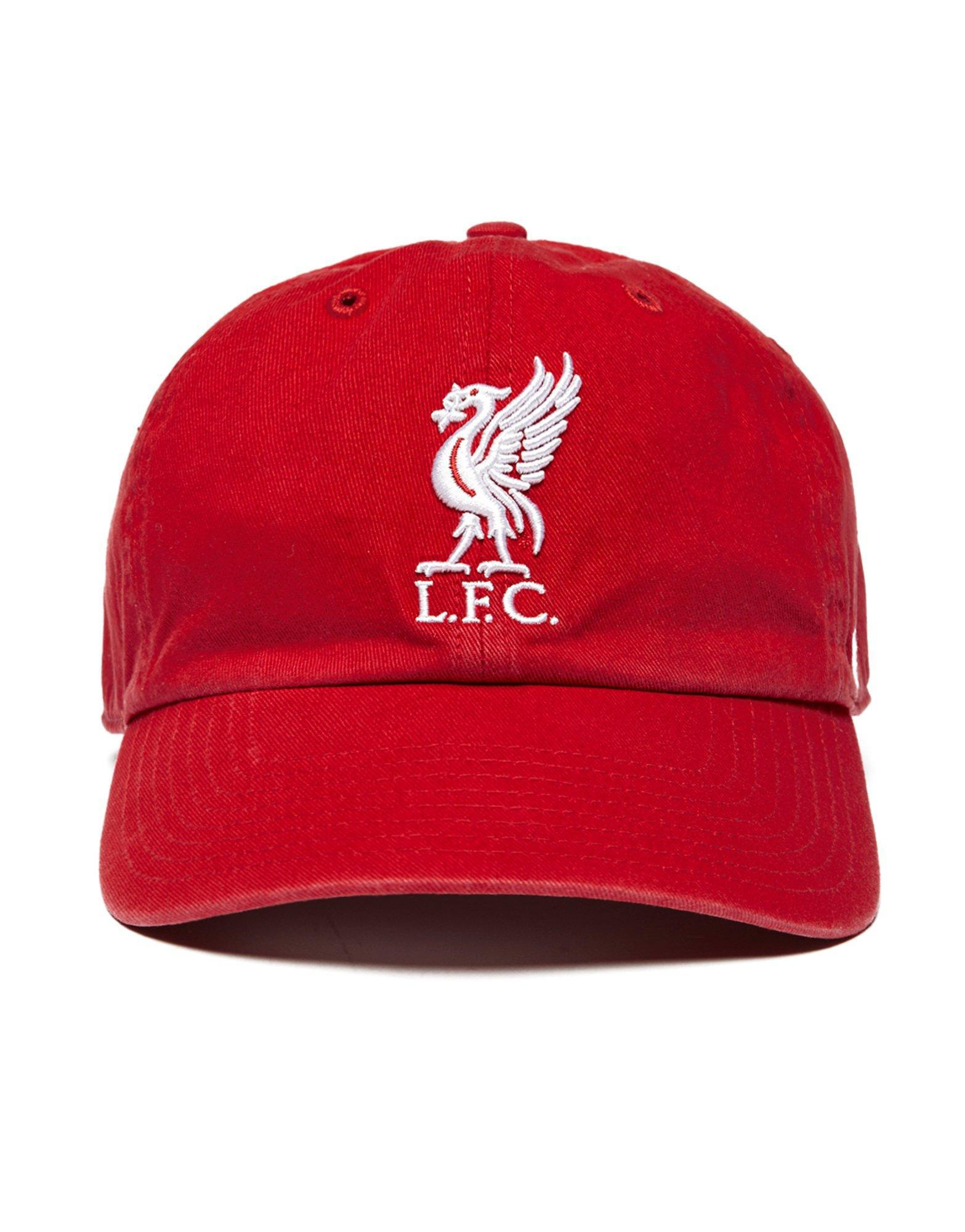24e1c48cbcc Lyst - 47 Brand Liverpool Fc Cap in Red for Men