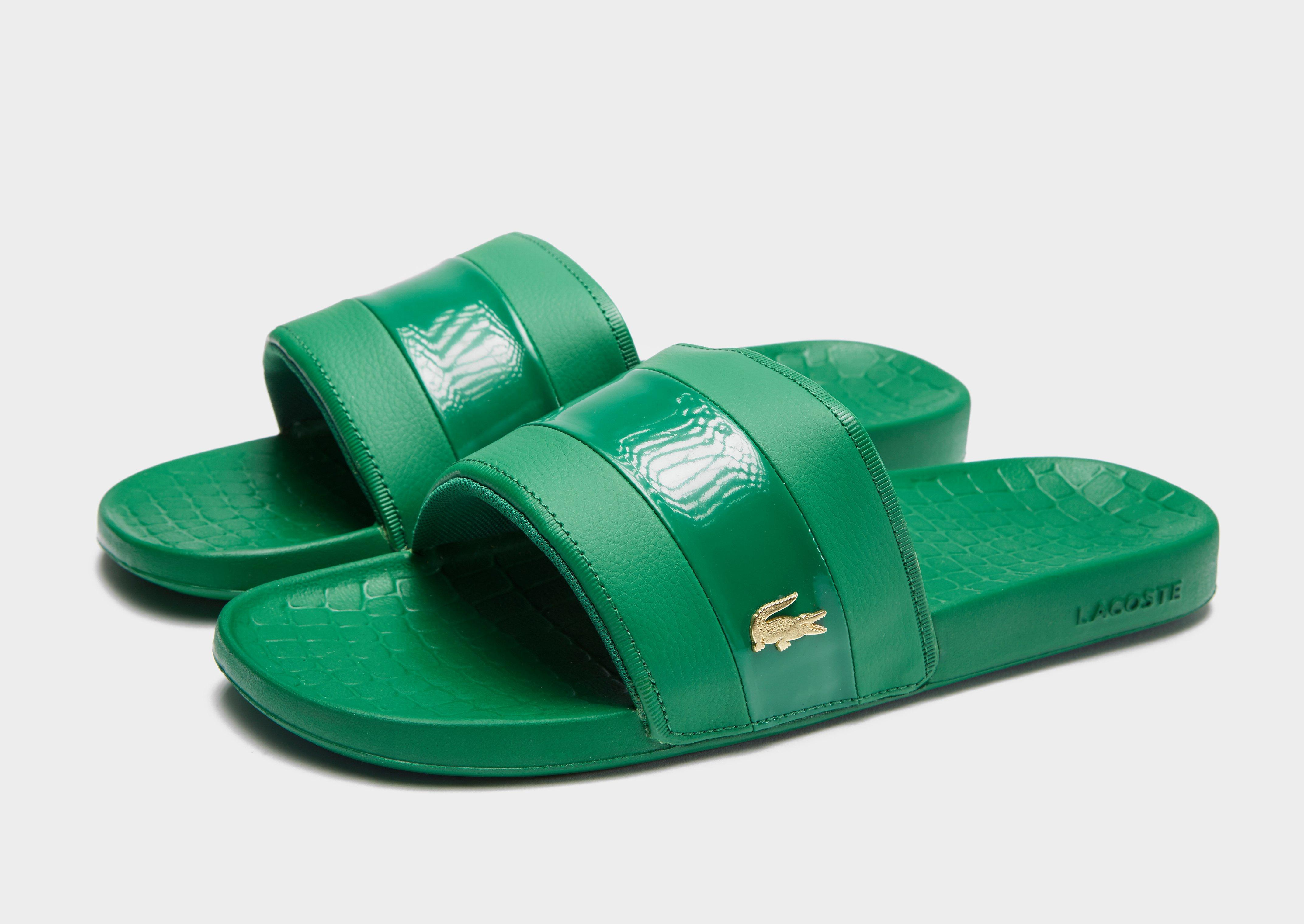 622f5b20c7588 Lyst - Lacoste Frasier Deluxe Slides in Green for Men