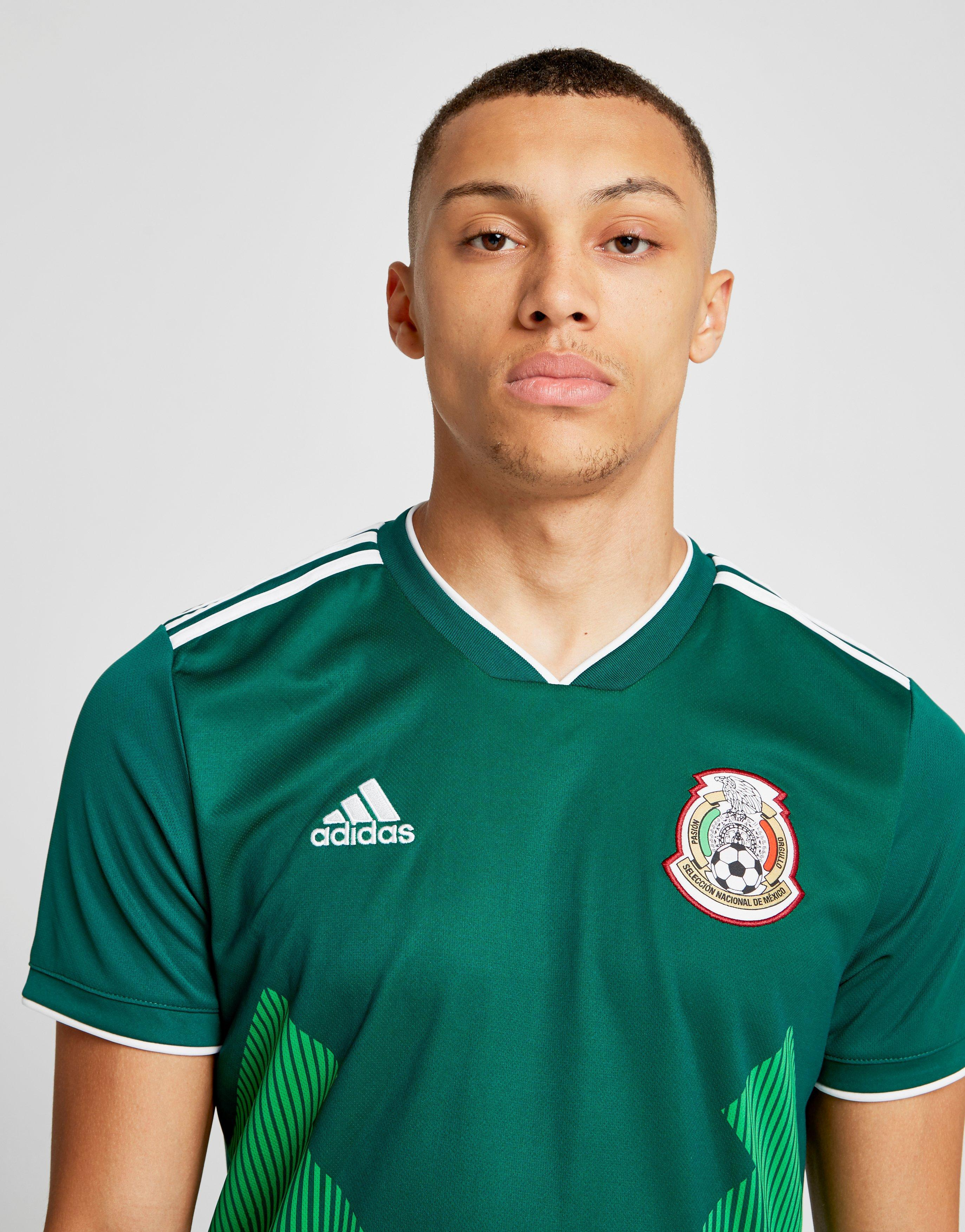 e6317fdb1 adidas Mexico 2018 Home Shirt in Green for Men - Lyst