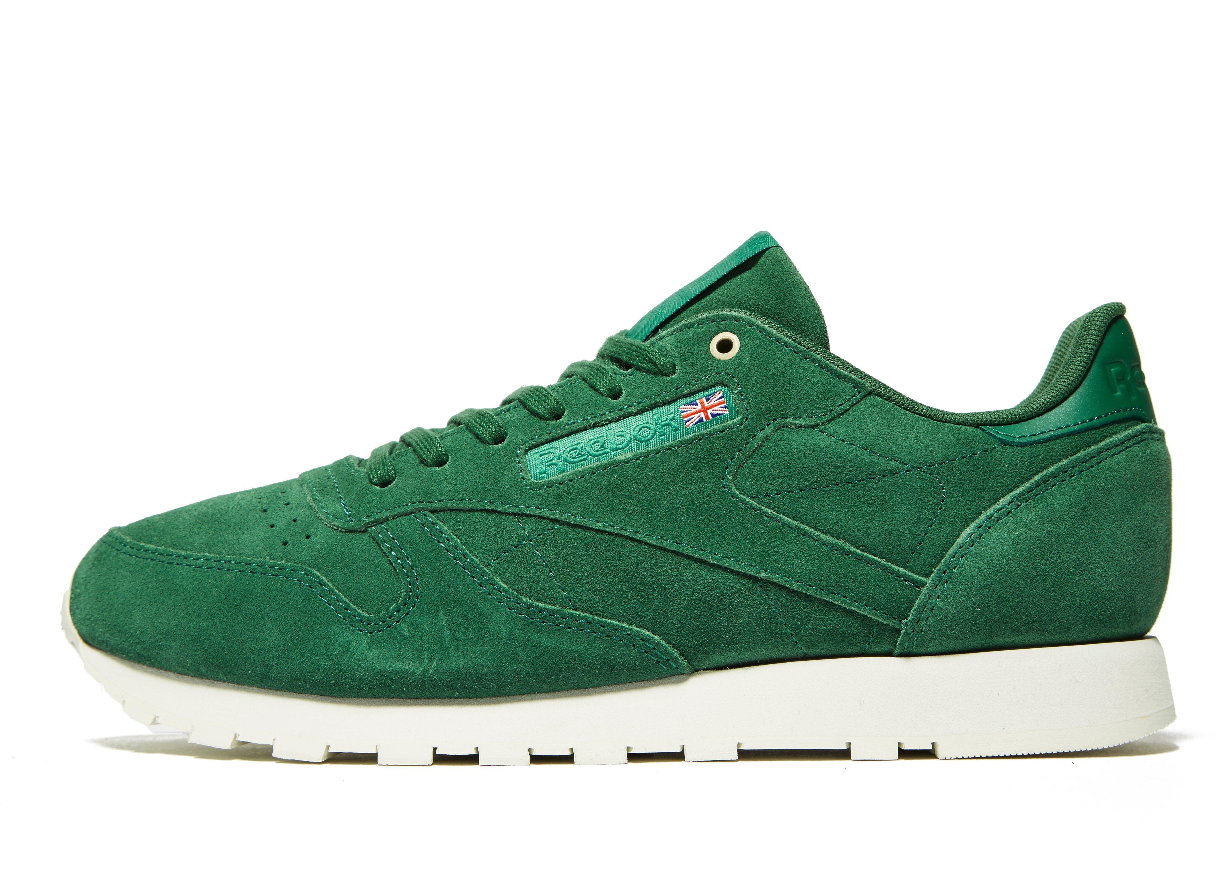 da8aa851fc82 Lyst - Reebok Classic Leather Mcc in Green for Men