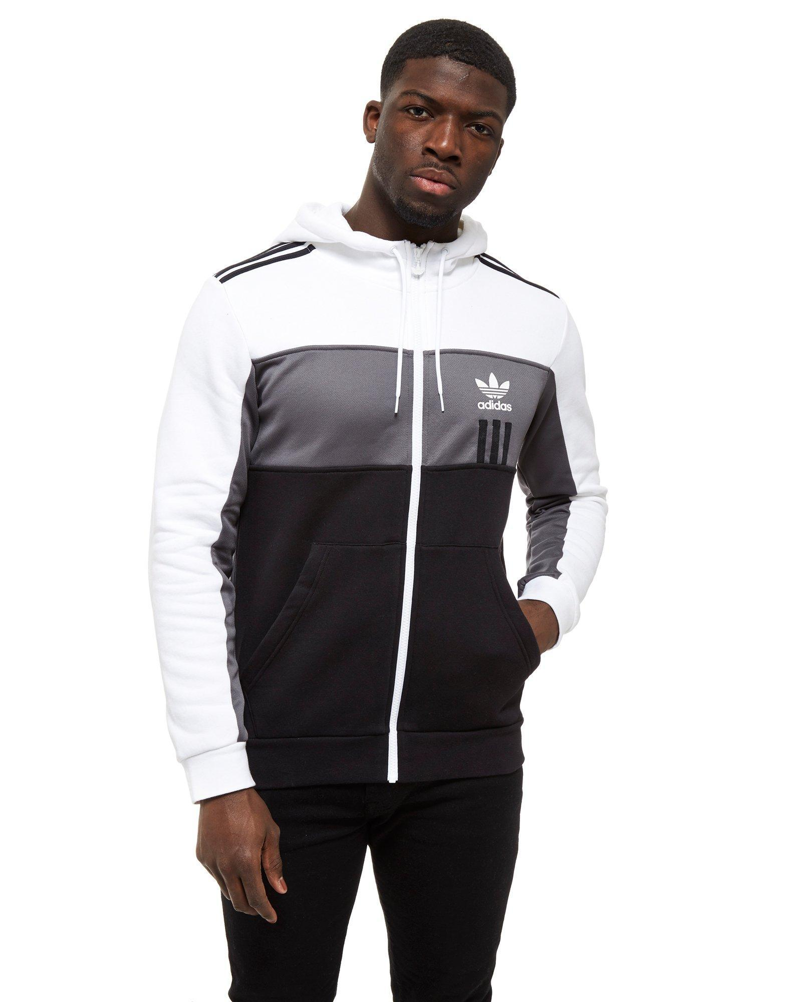 38f24f618 Full Full Full Zip Lyst In Originals Id96 For Hoodie Black Black Black Adidas  Men qawSEPtzn