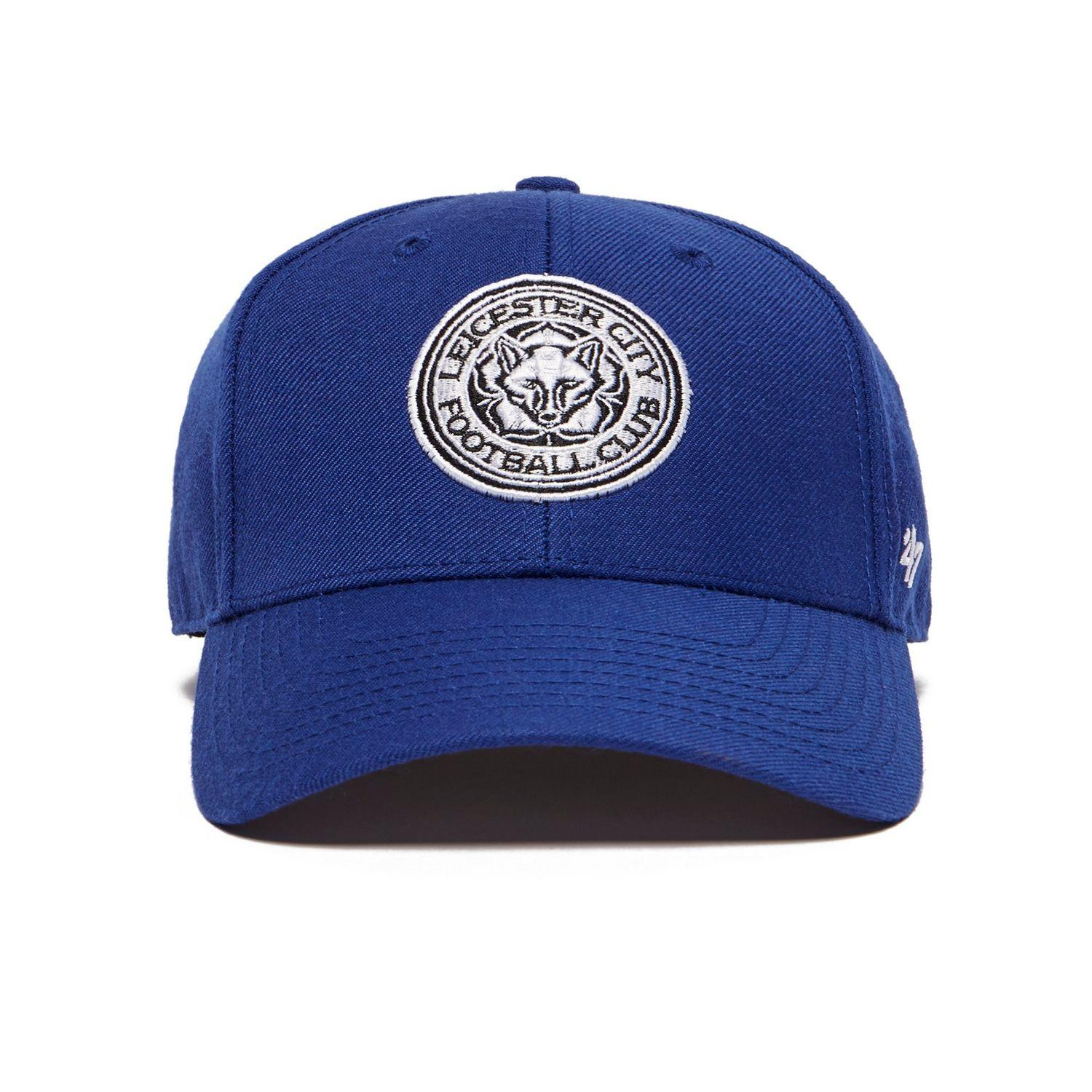 af05f30f83a Lyst - 47 Brand Leicester City Fc Clean Up Cap in Blue for Men
