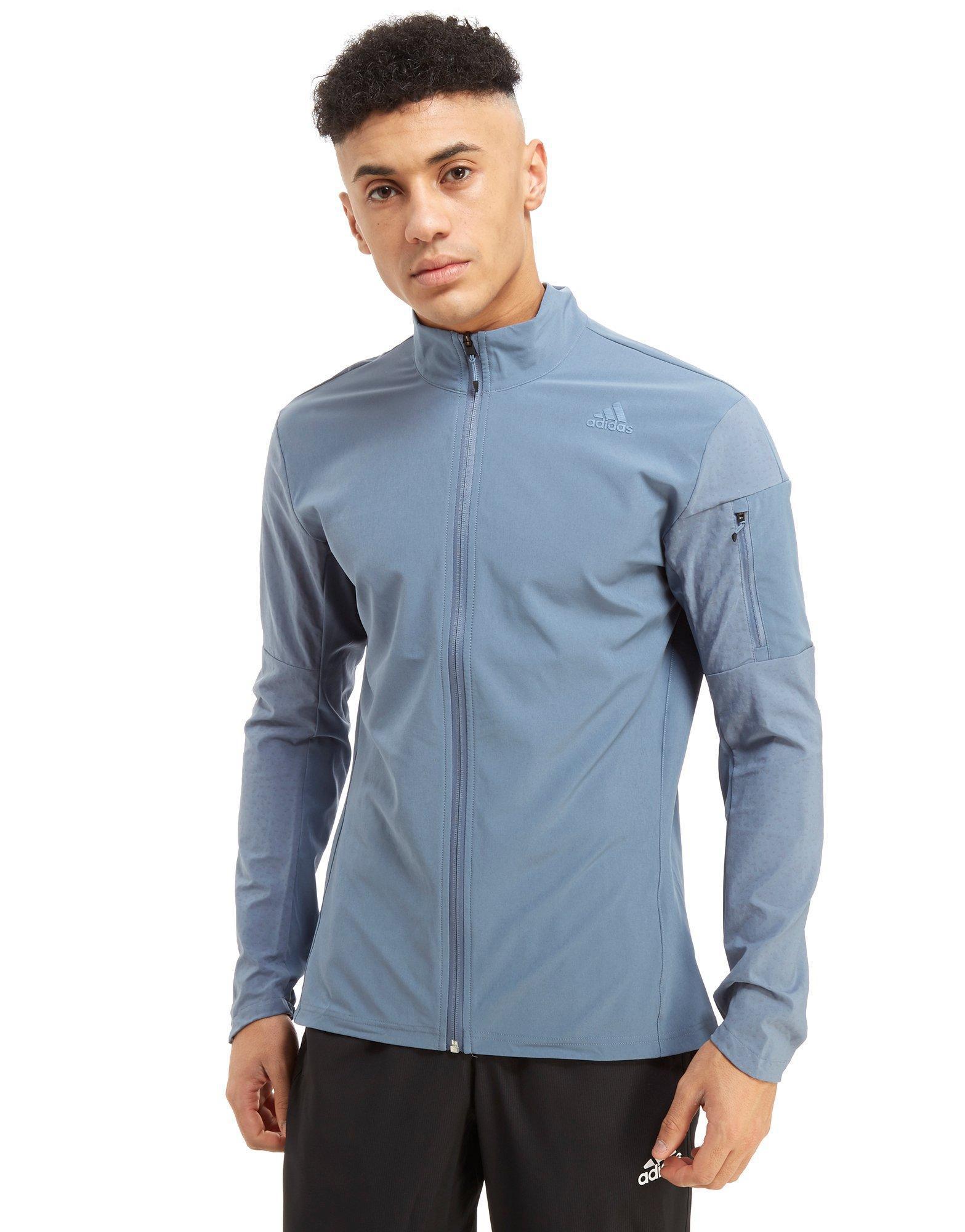 adidas Supernova Storm Jacket in Blue for Men Lyst