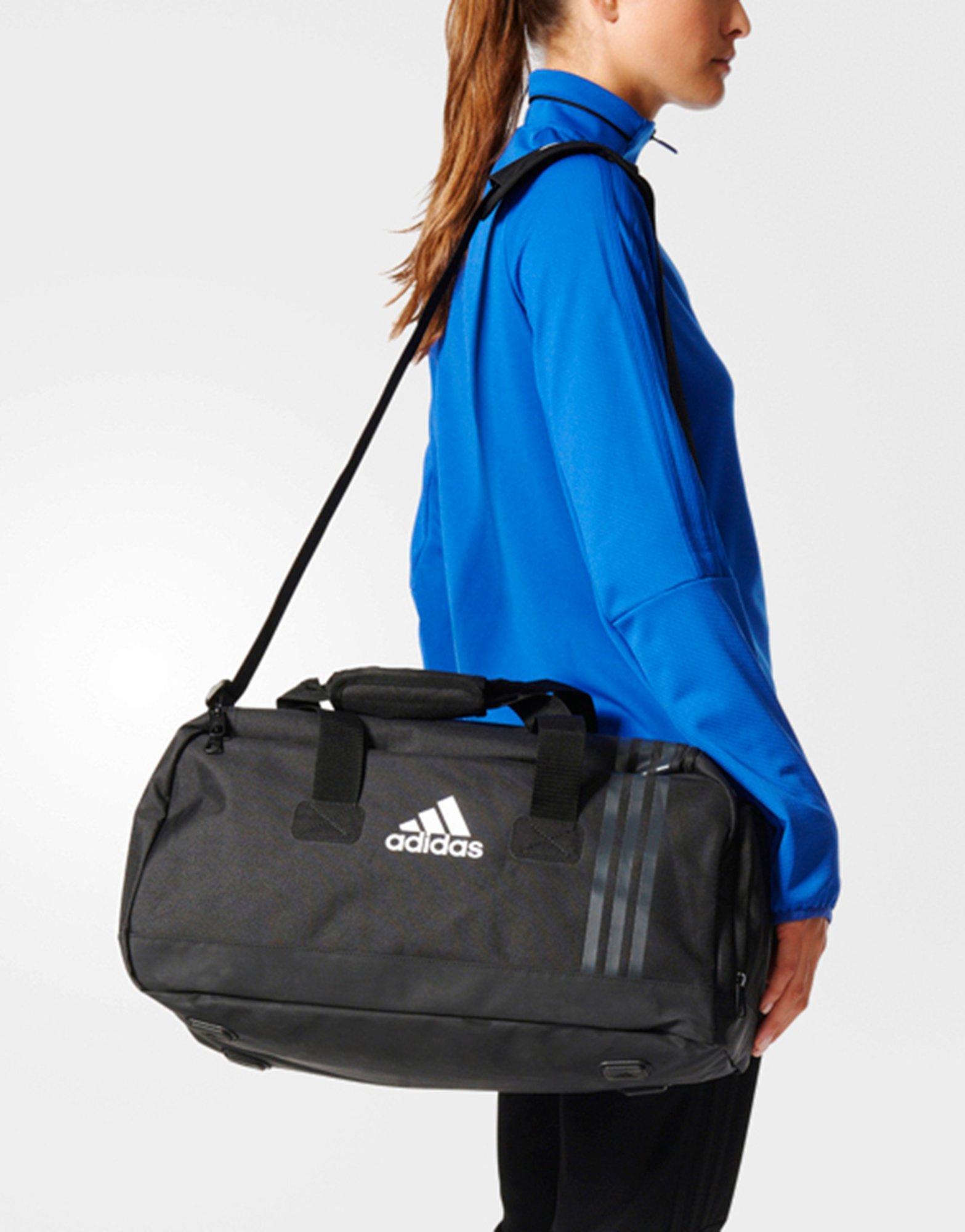 c38278a05574 adidas Tiro Team Bag Small in Black - Lyst
