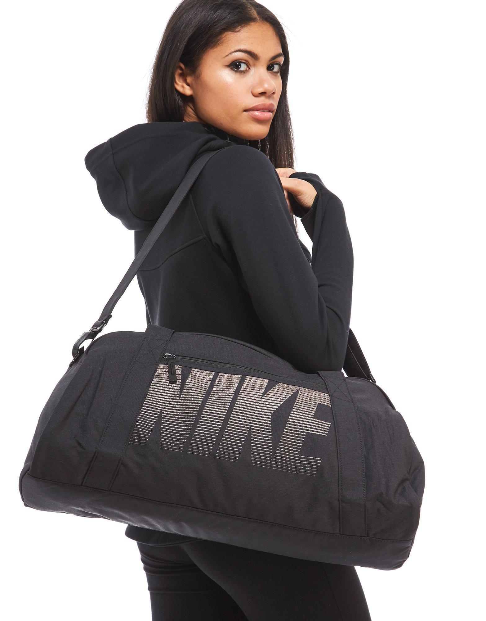 4f07a077f Nike Gym Club Training Duffle Bag in Black for Men - Lyst