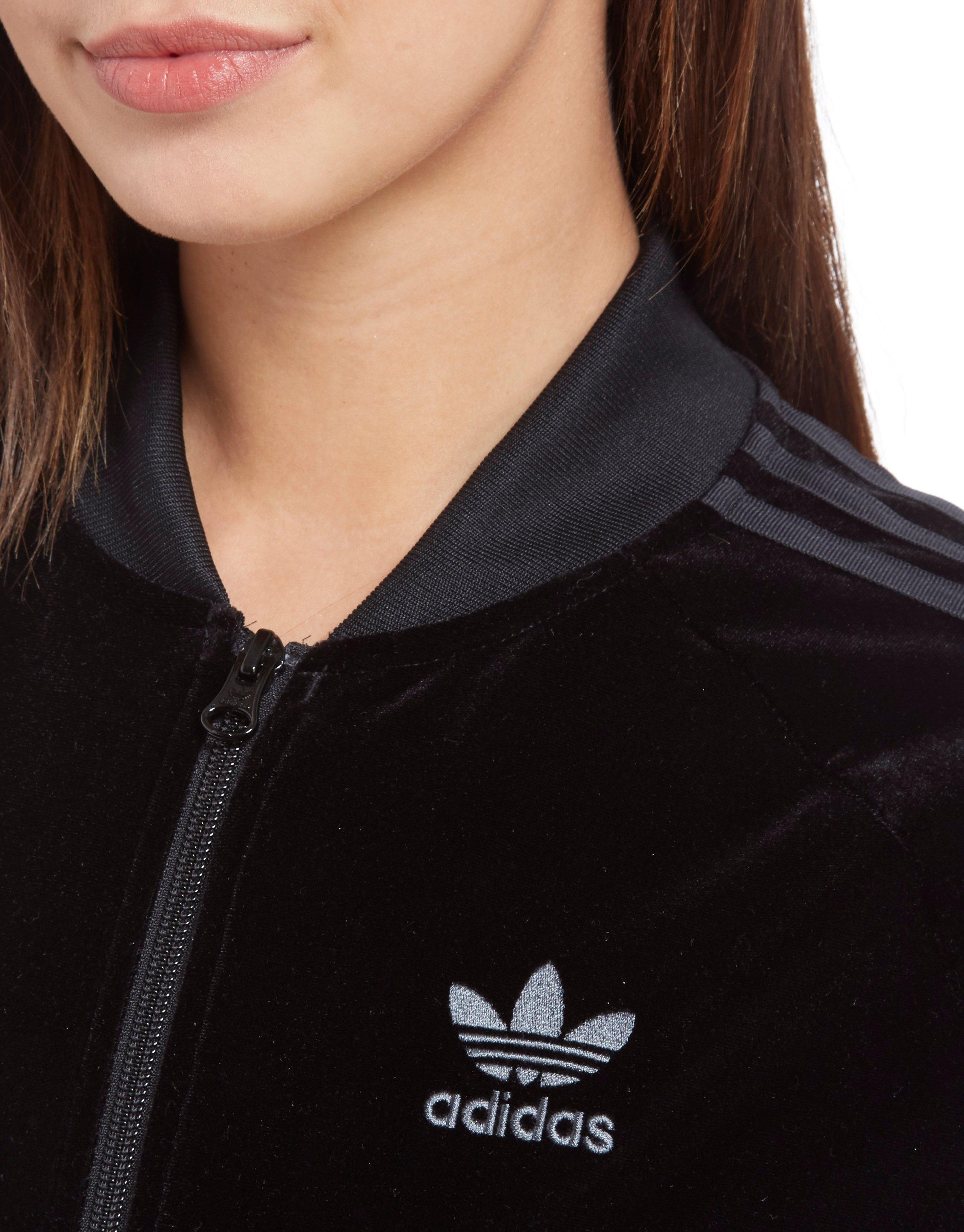 adidas originals velvet superstar top